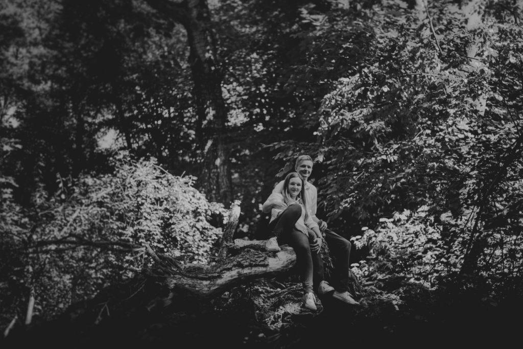 lesne klimaty na zdjęcia ślubne