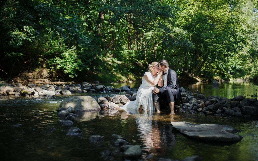 A+R – Plener ślubny nad rzeką