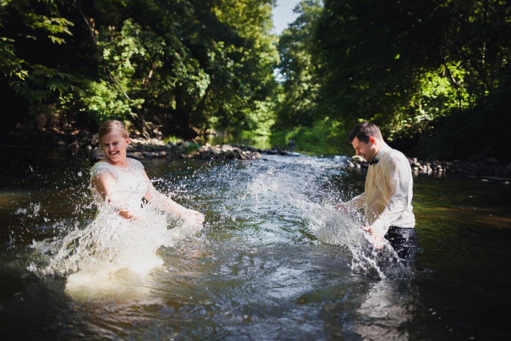odjazdowa sesja ślubna