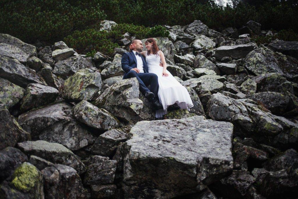 niezwykła sesja ślubna