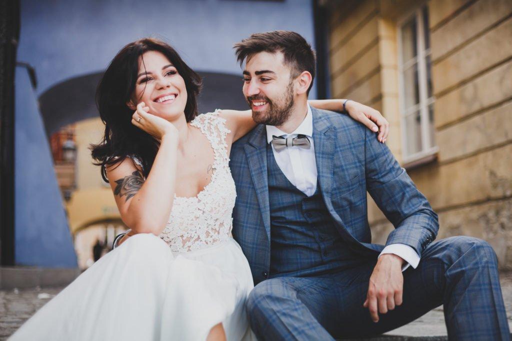 naturalna sesja poślubna