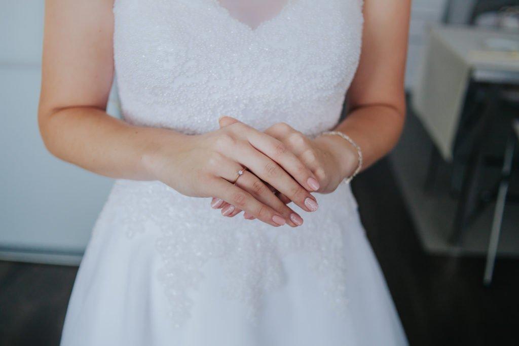 przygotowania do ślubu panna młoda