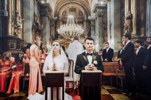 ślub w kościele Św Anny