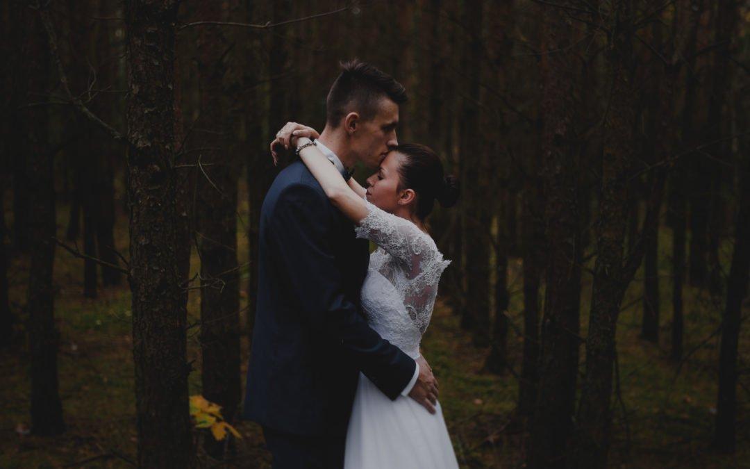 Love in the forest czyli sesja ślubna w lesie