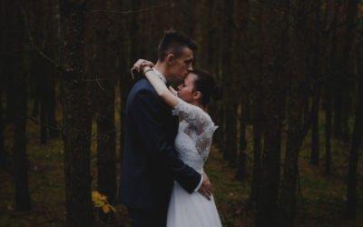 Sesja ślubna w lesie czyli Love in the forest