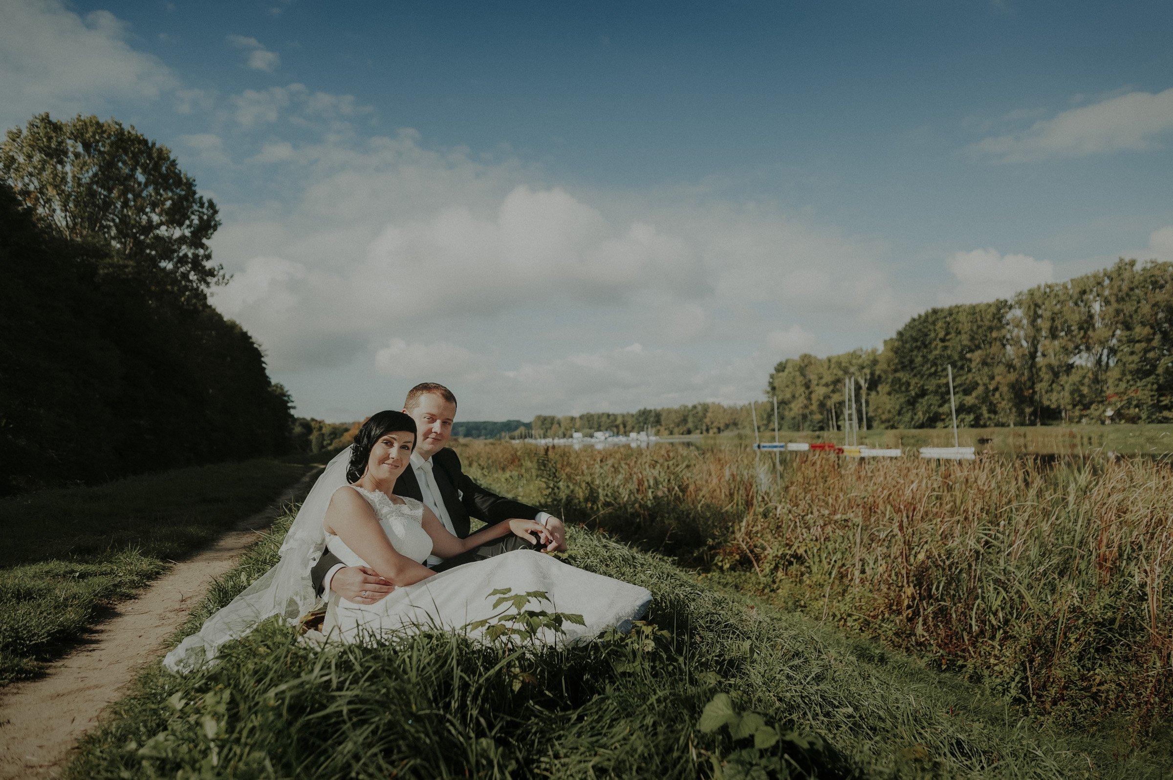 widok na jezioro zegrzyńskie