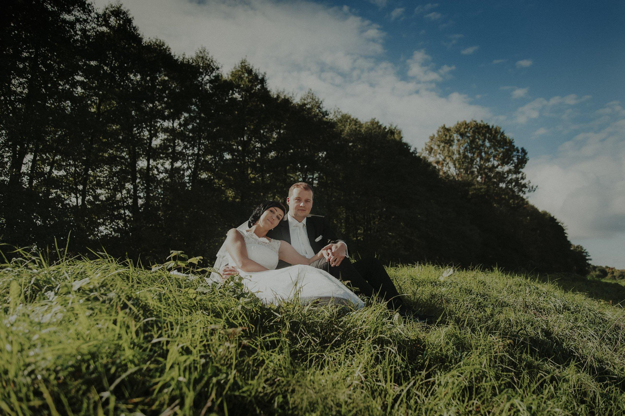 wymarzona sesja ślubna nad jeziorem
