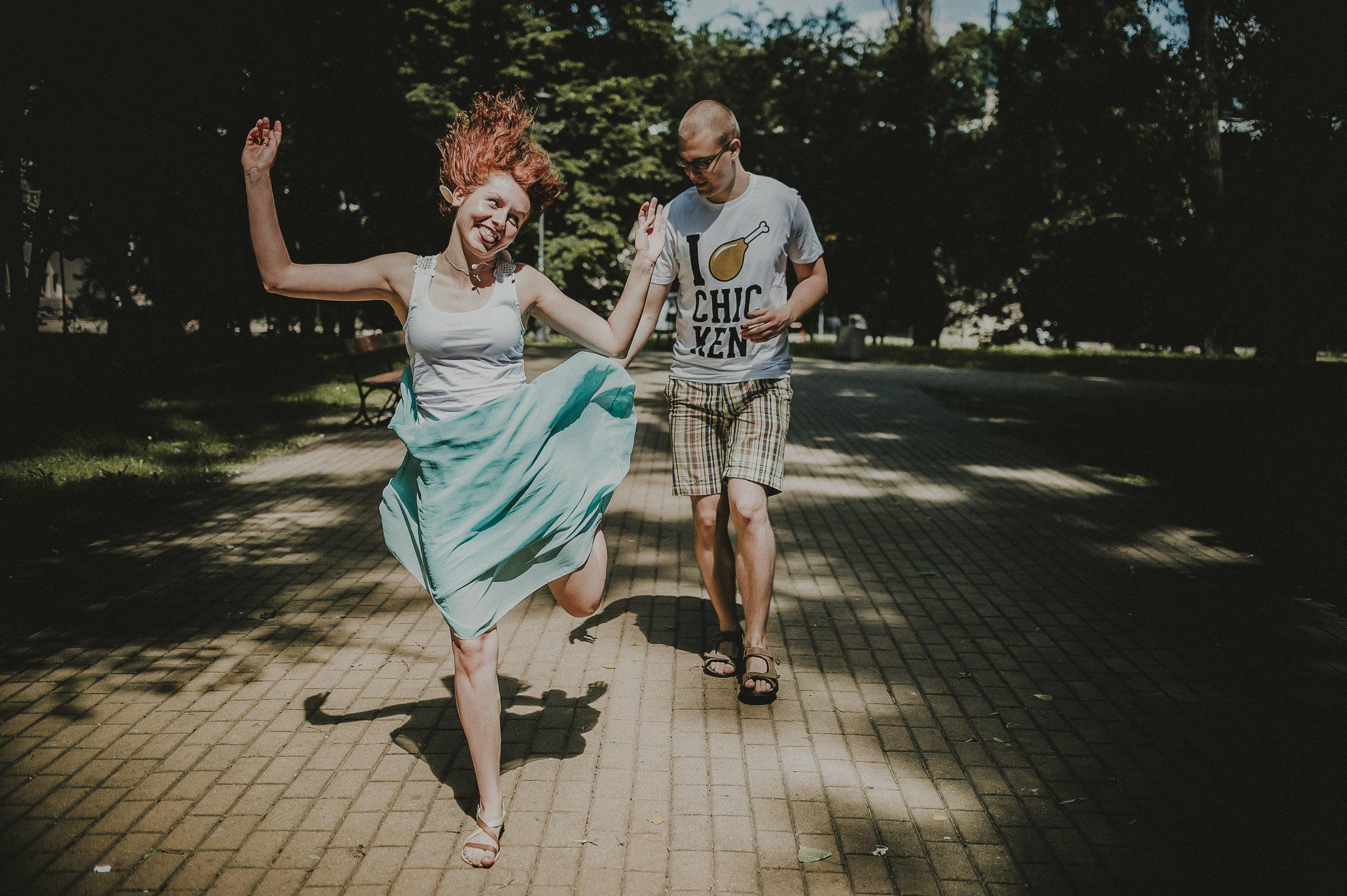 Sesja narzeczeńska - Ania i Tomek