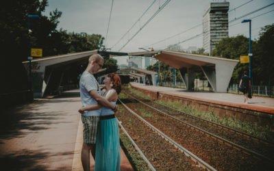 Sesja narzeczeńska – Ania i Tomek