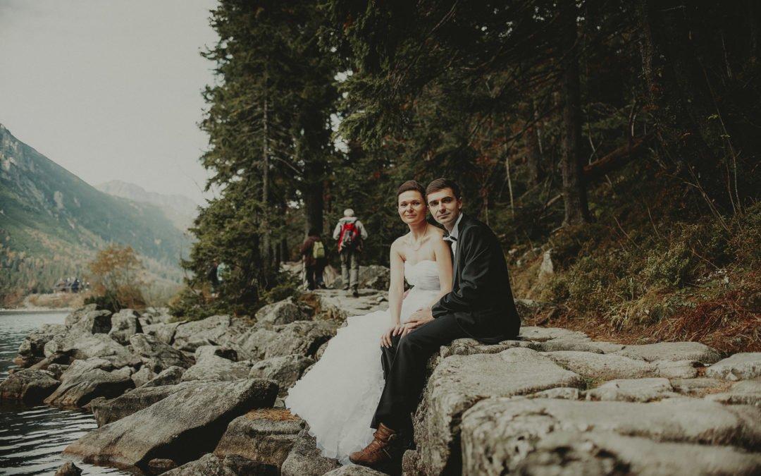 Morskie Oko – Sesja ślubna Adama i Magdy