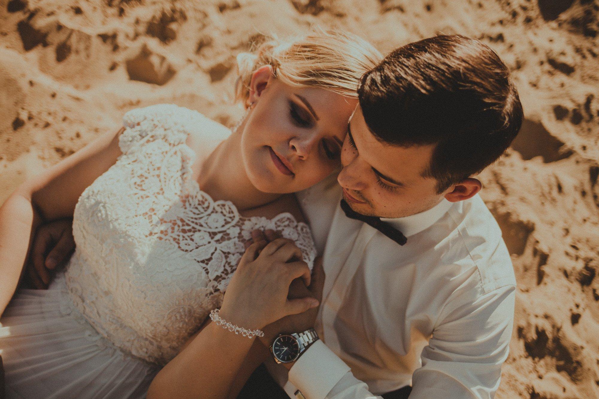 fotografia ślubna naturalnie