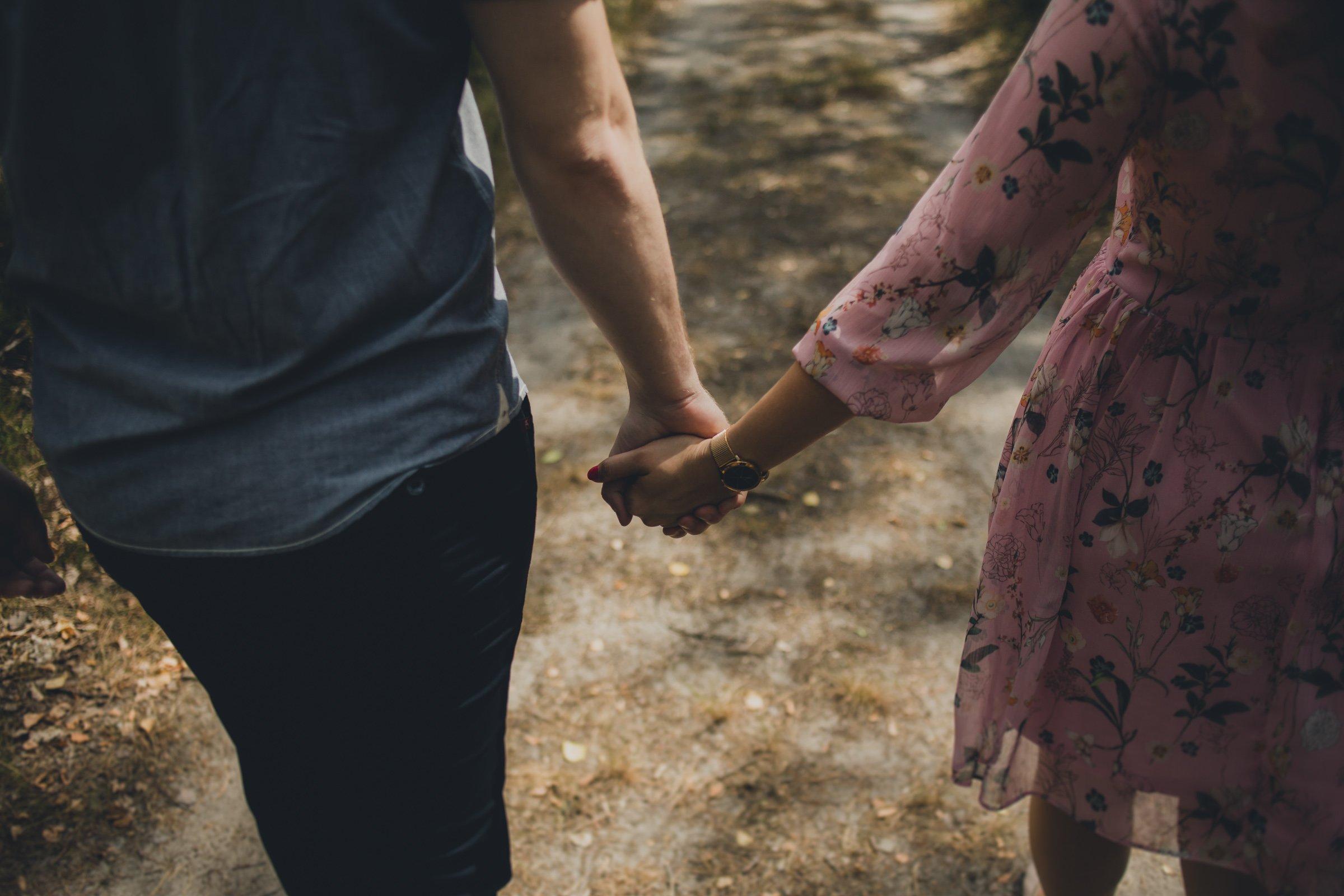Romantyczna sesja dla nareczonych
