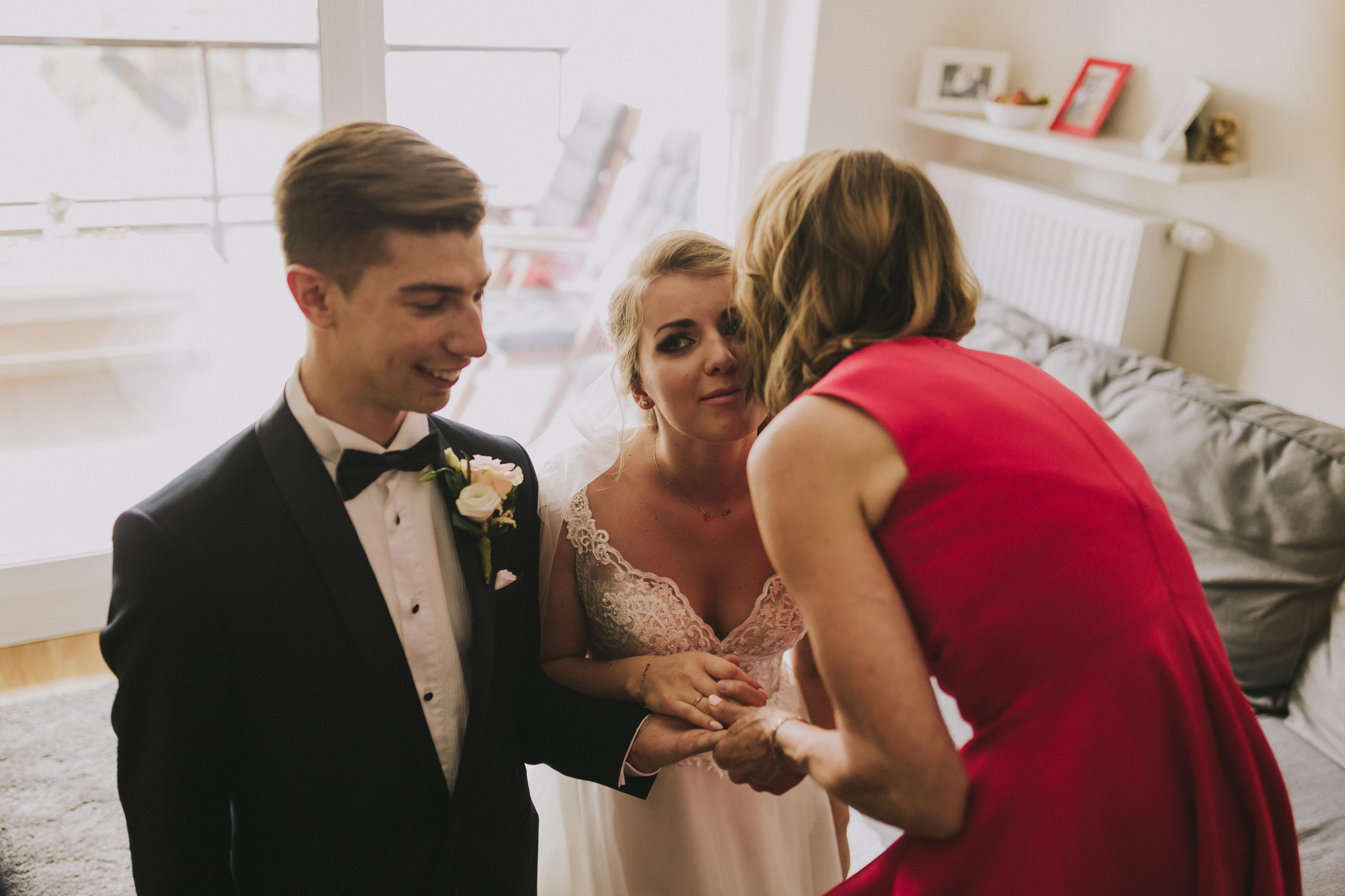 błogosławieństwo przed ślubem