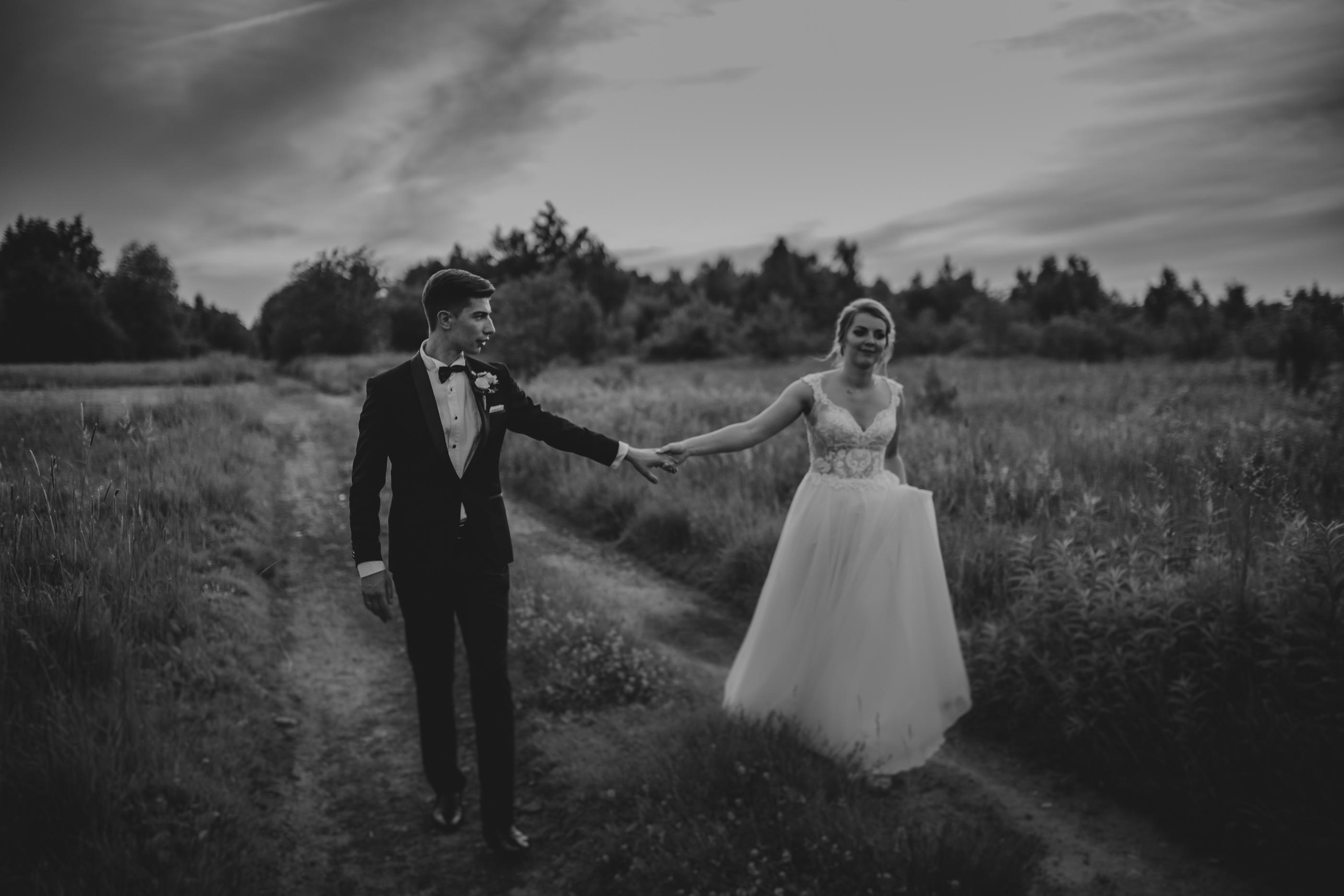 sesja ślubna w dniu ślubu otwock