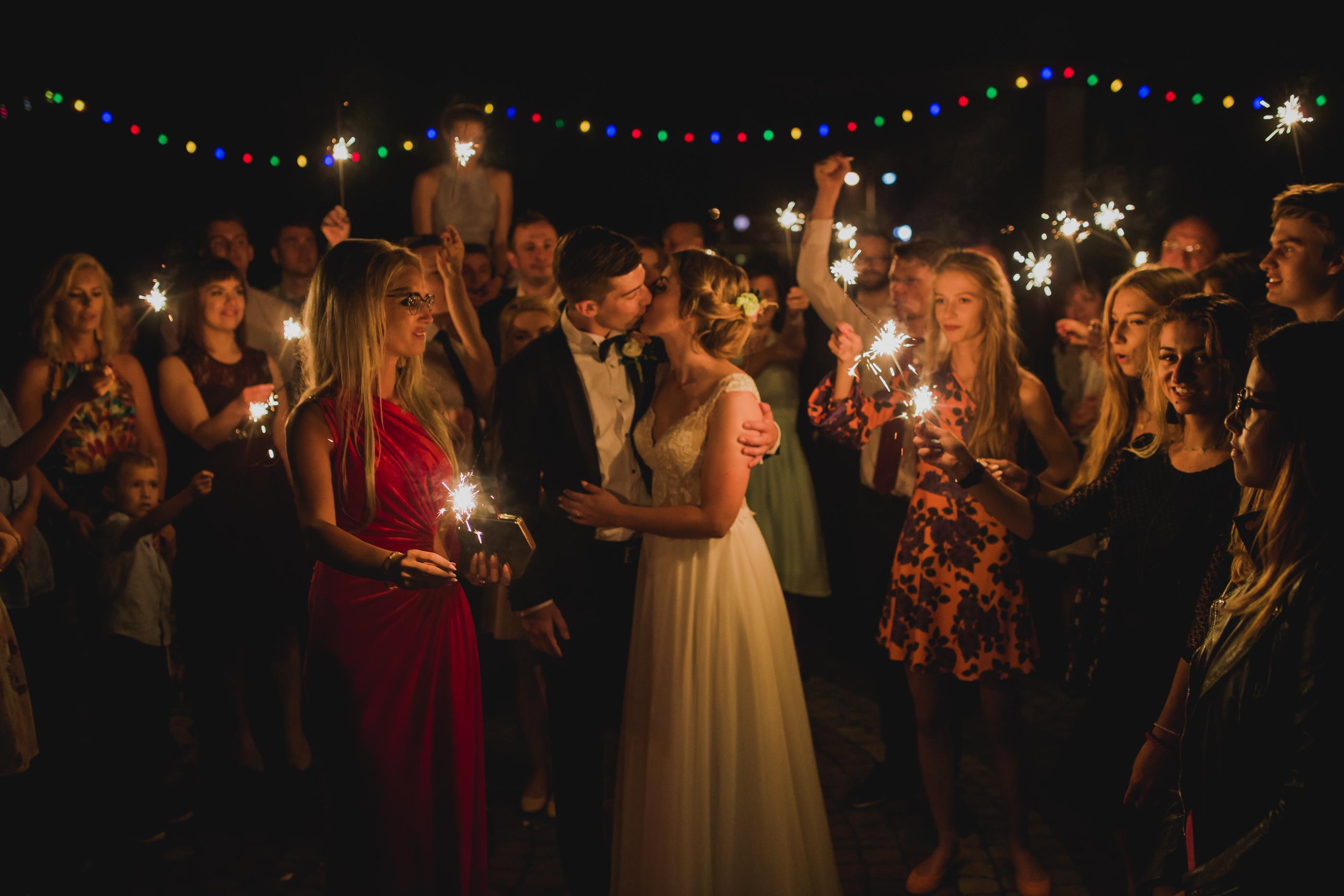 klimatyczne zdjęcie weselne