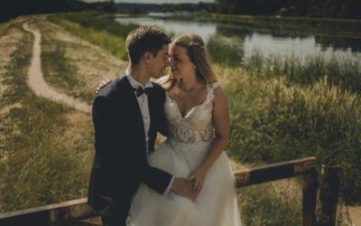 Sesja ślubna nad jeziorem – Alicja i Patryk