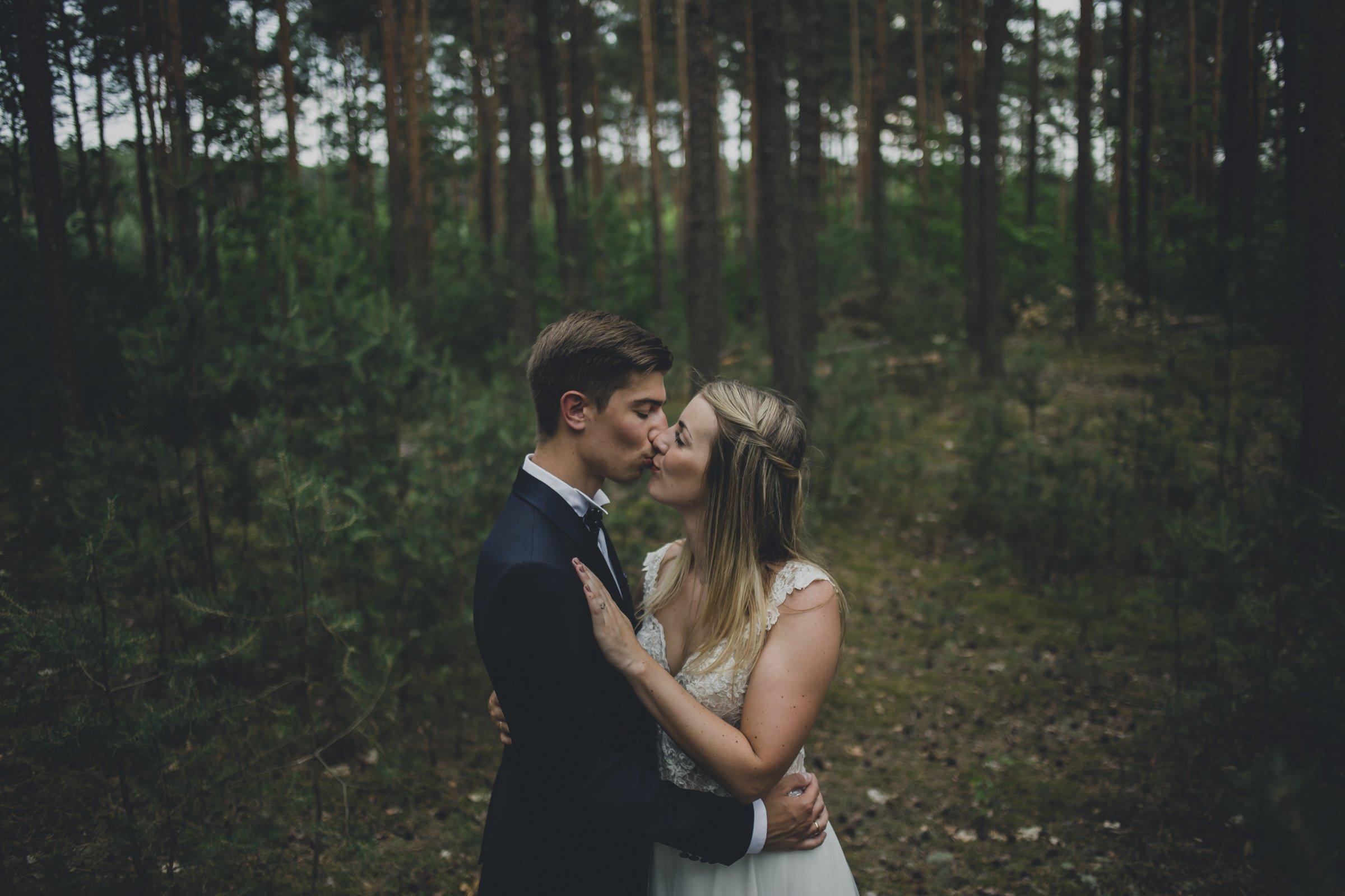 miłość na zdjęciach slubnych