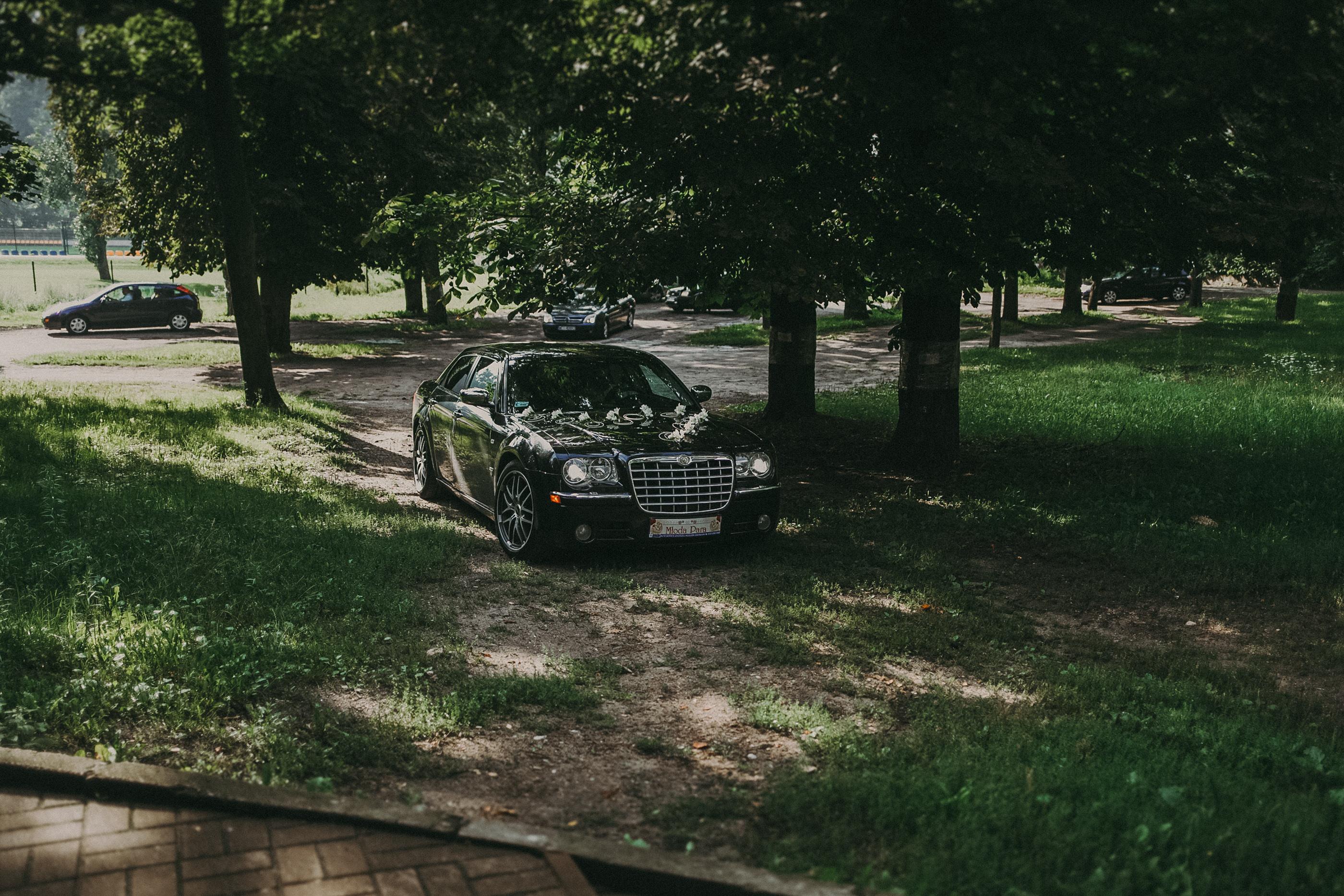 auto do ślubu ciechanów