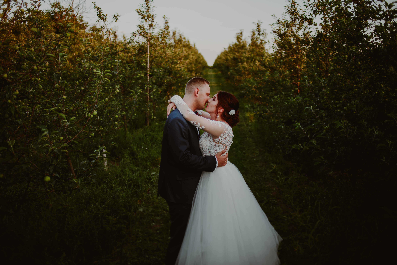 krótka sesja ślubna