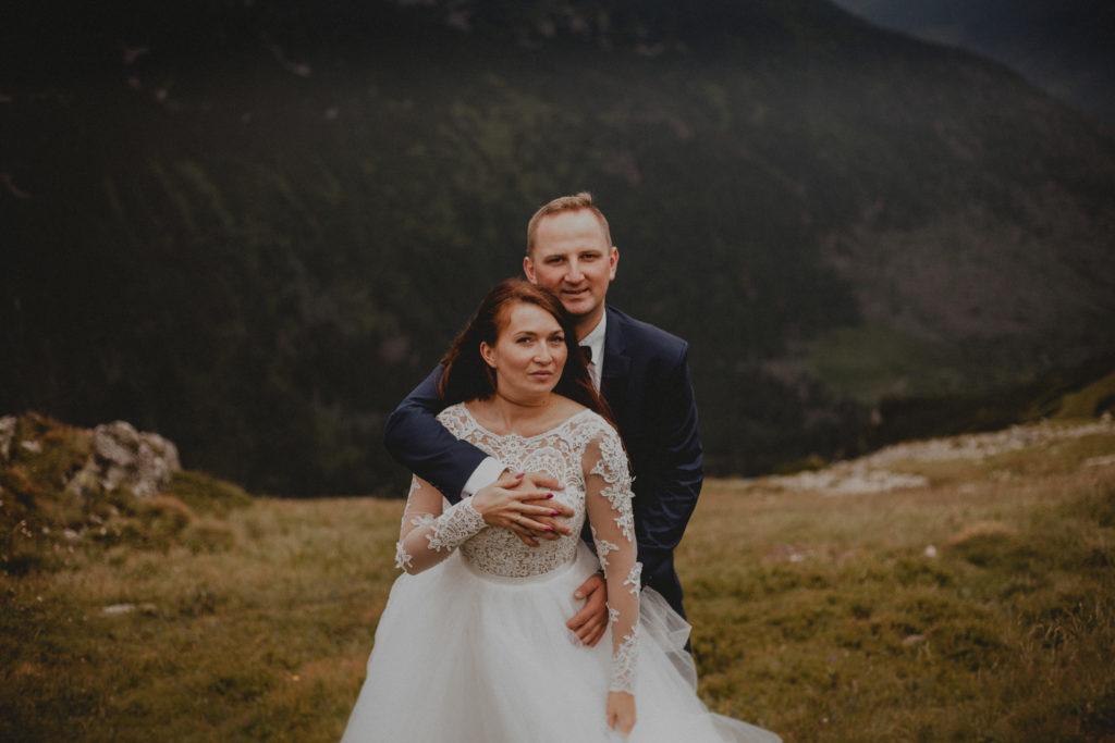 górska sesja poślubna