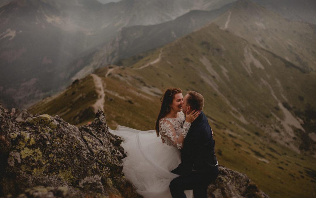 Sesja ślubna w Tatrach – Kasprowy Wierch