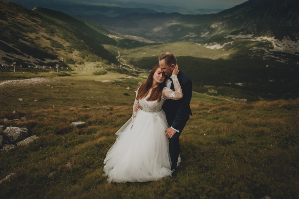 Sesja ślubna w Tatrach - Kasprowy Wierch