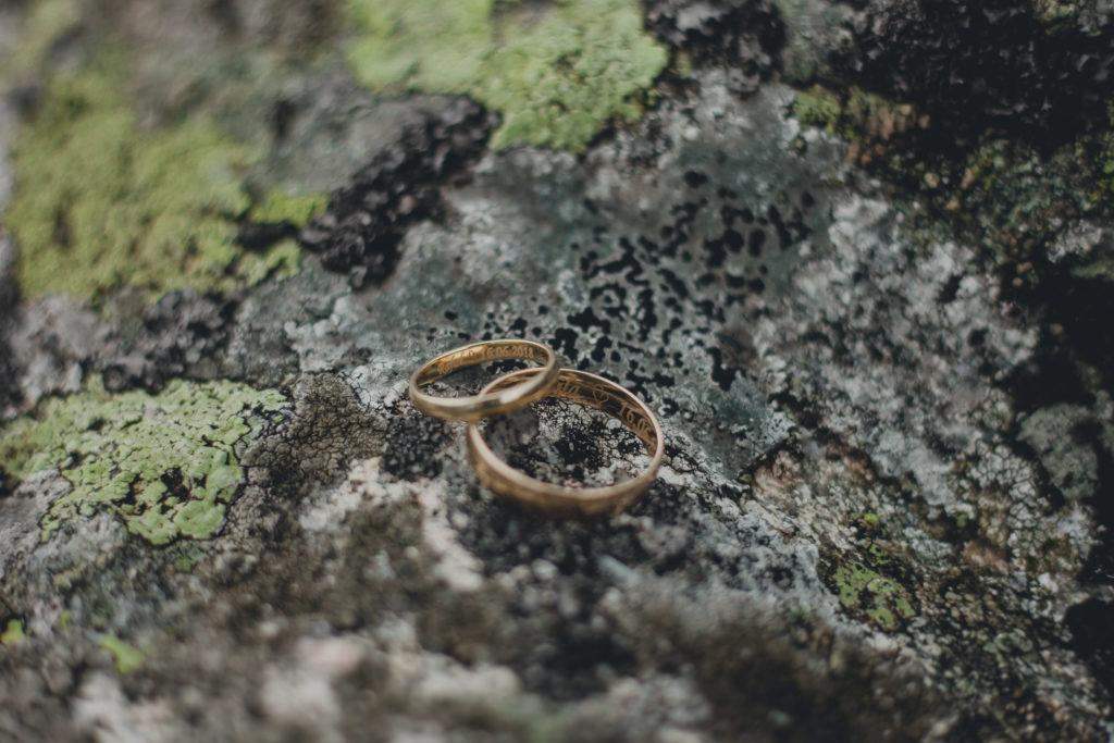 obrączki ślubne w górach
