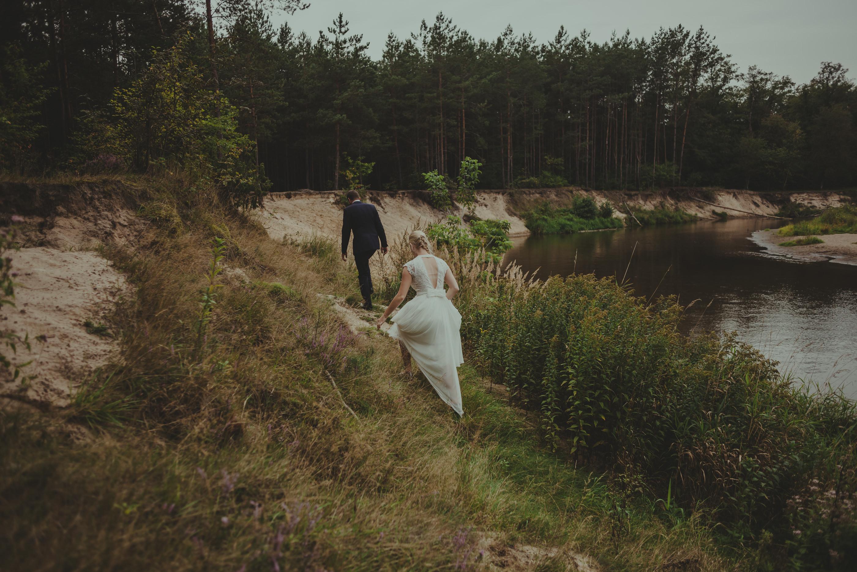 zdjęcia ślubne w fajnym miejscu