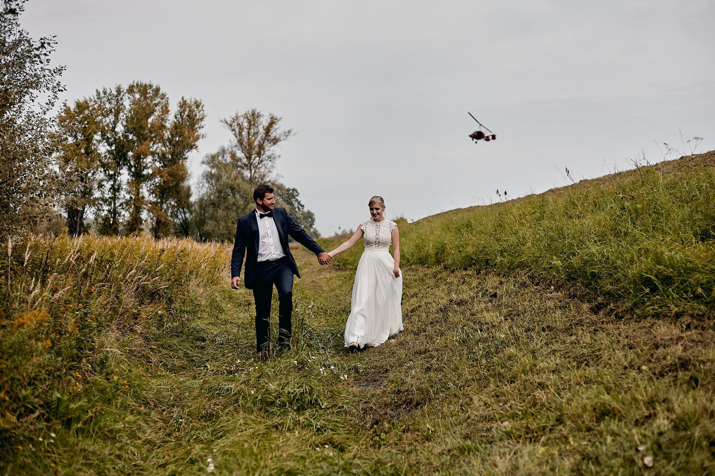 naturalna fotografia ślubna otwock