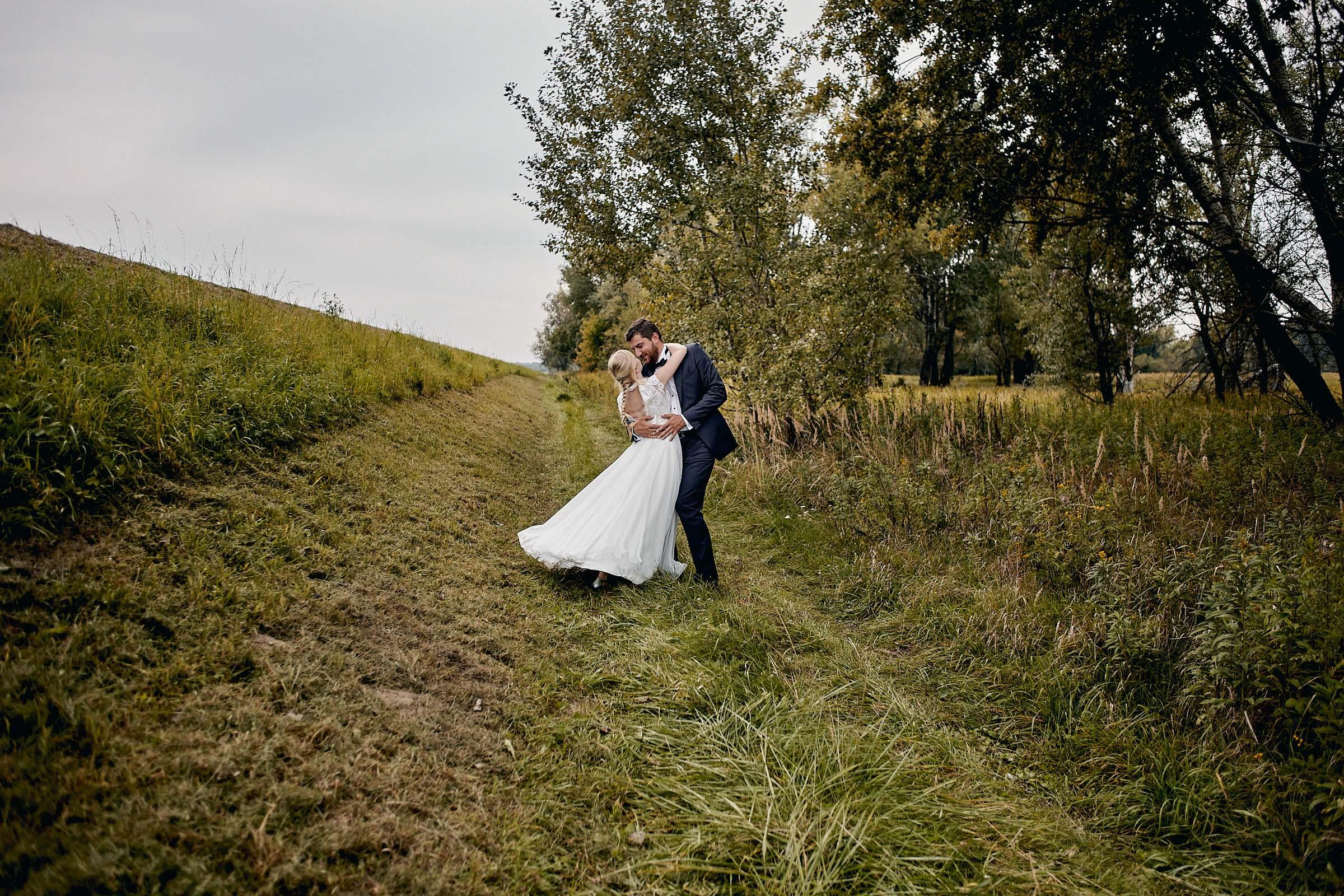 szaleństwo na sesji ślubnej