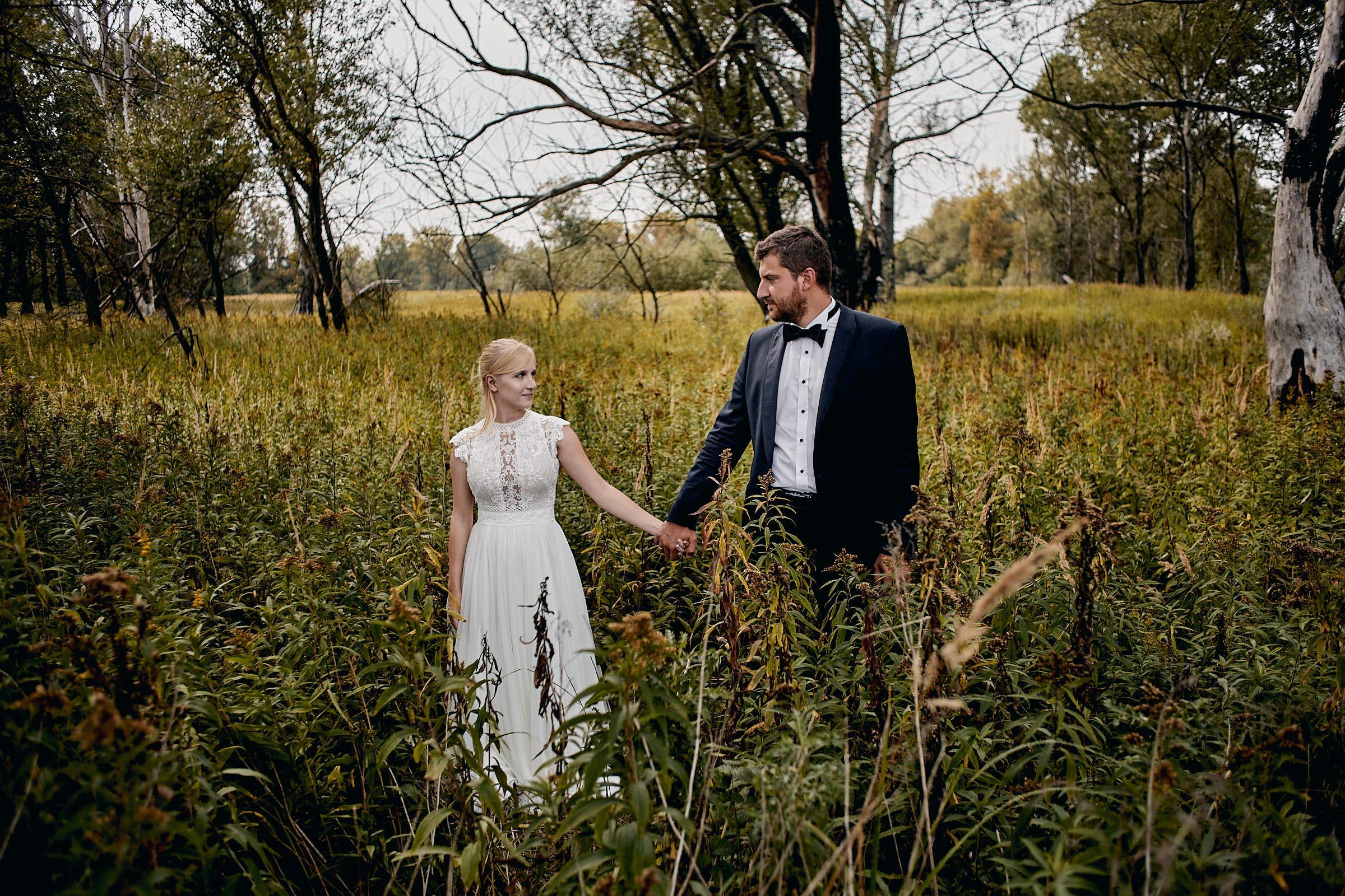 plener ślubny w naturze
