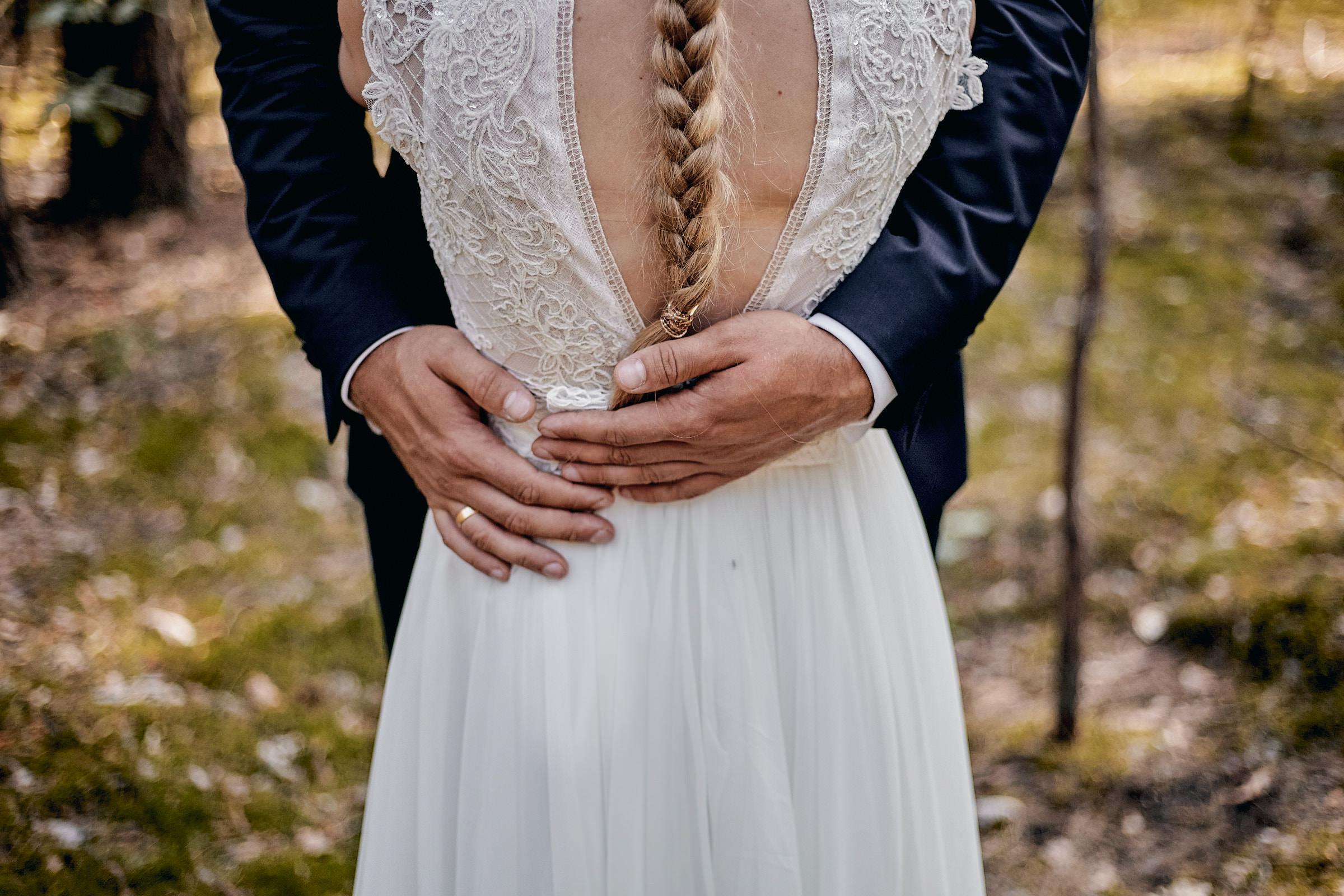 Aleksandra i Szczepan - Sesja ślubna na łonie natury