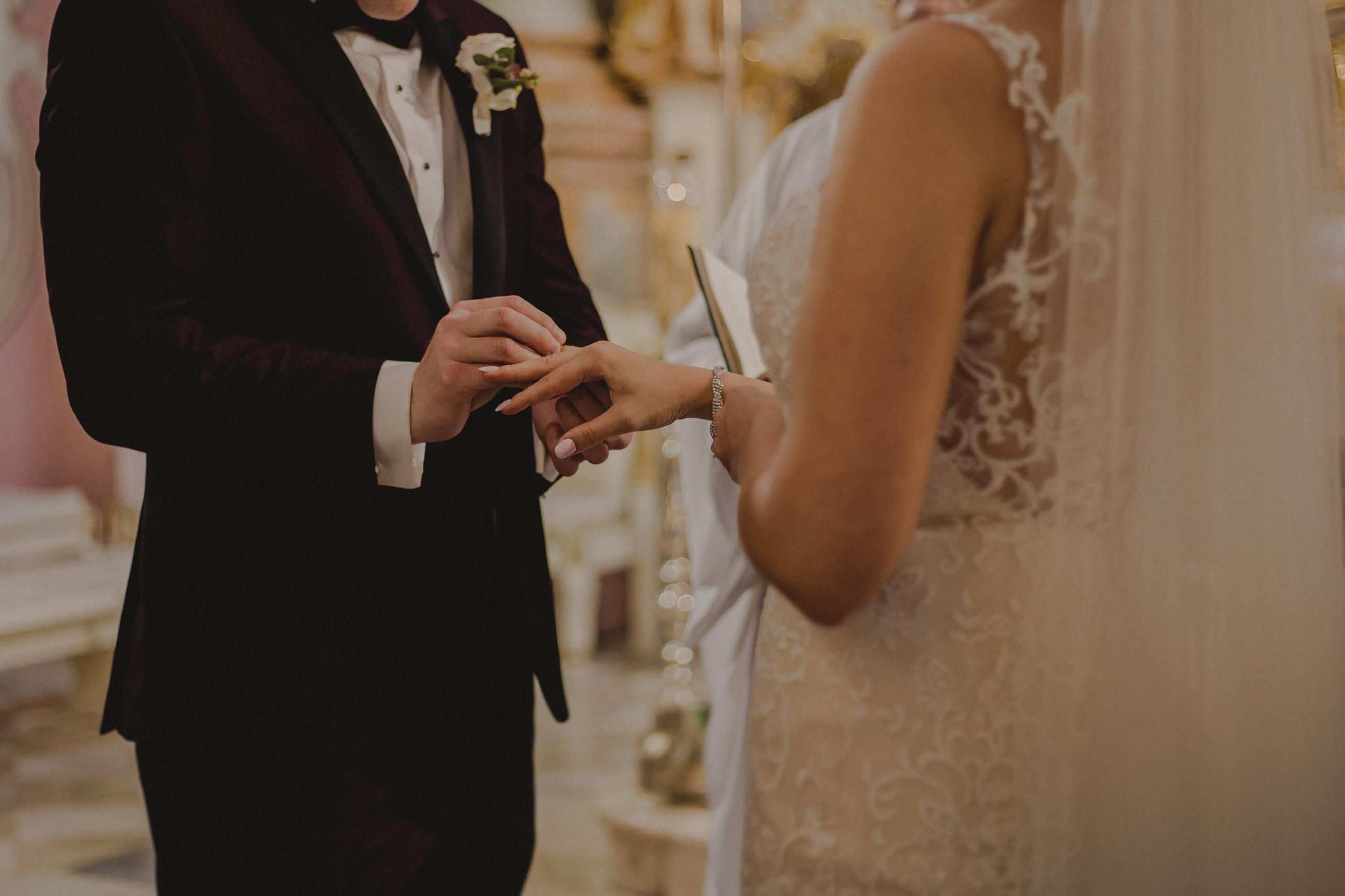 ceremonia ślubna kobyłka