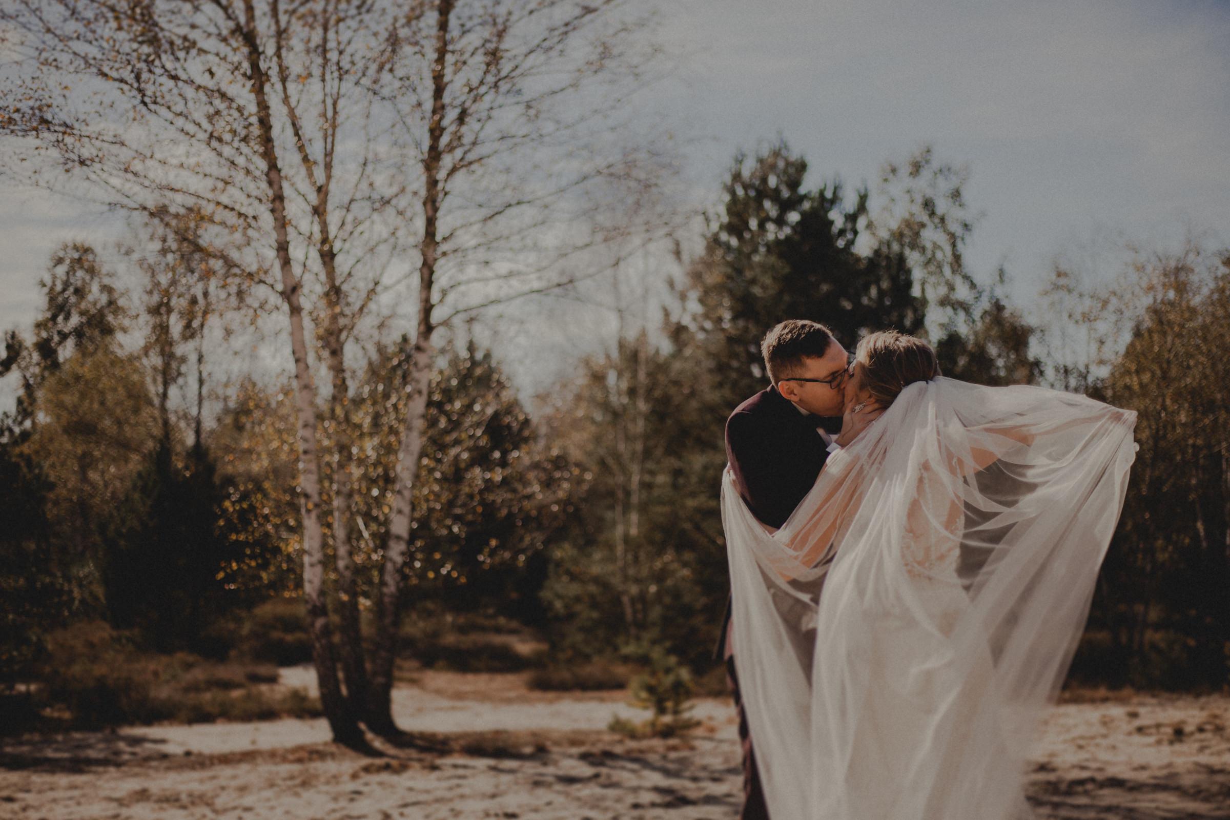 jesienna sesja ślubna warszawa