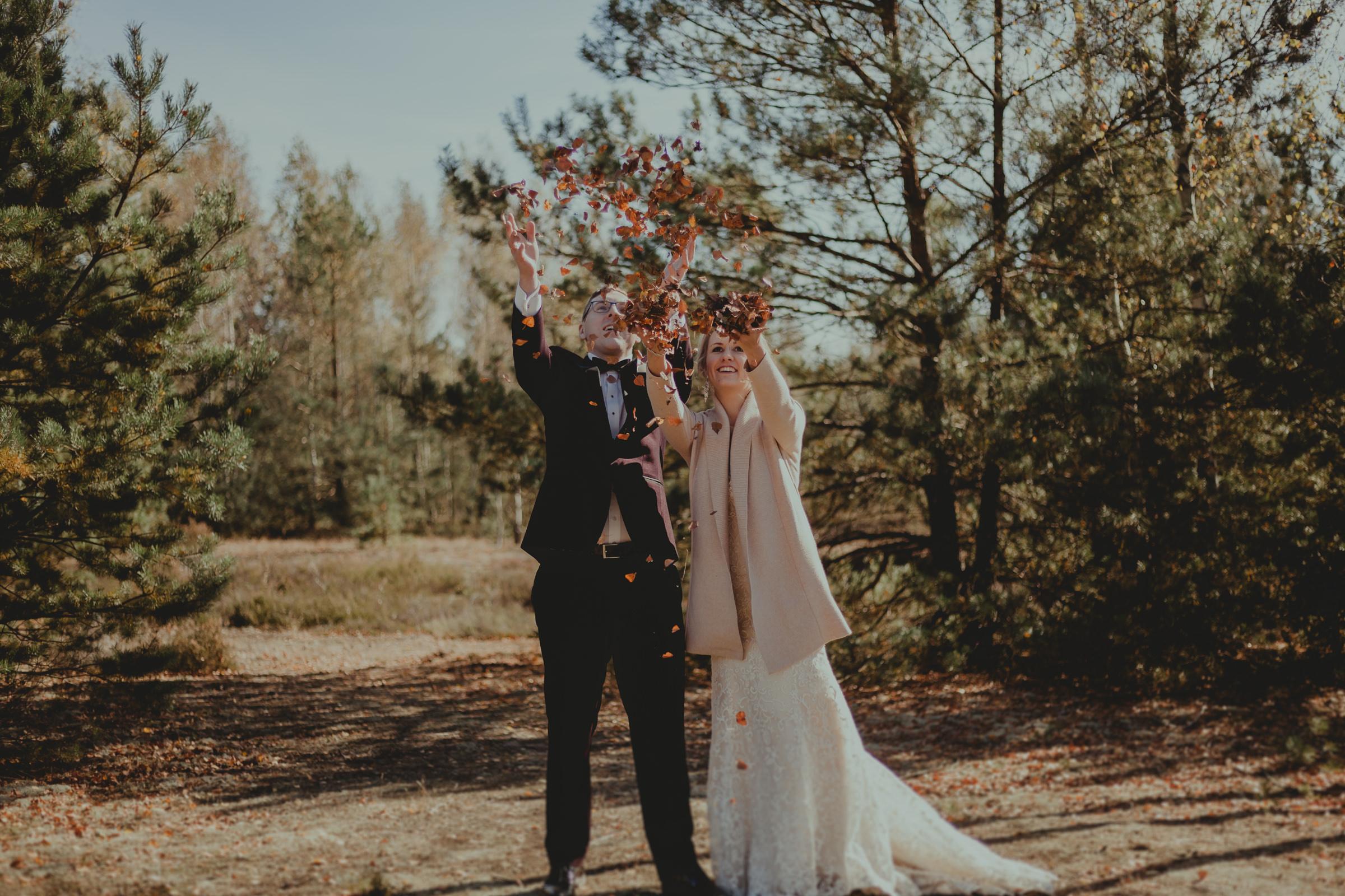 sesja ślubna na luzie