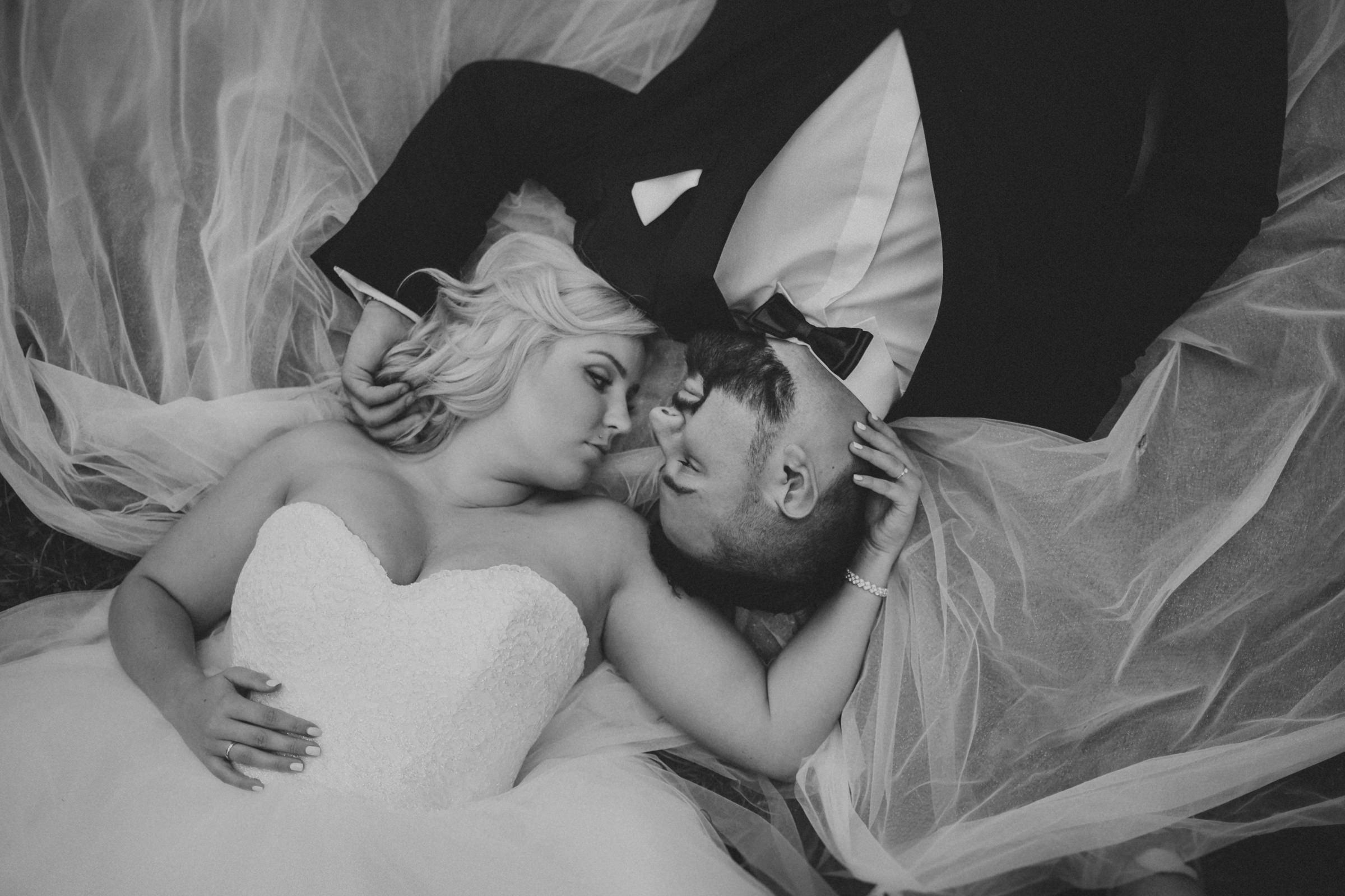 zdjęcia ślubne z góry