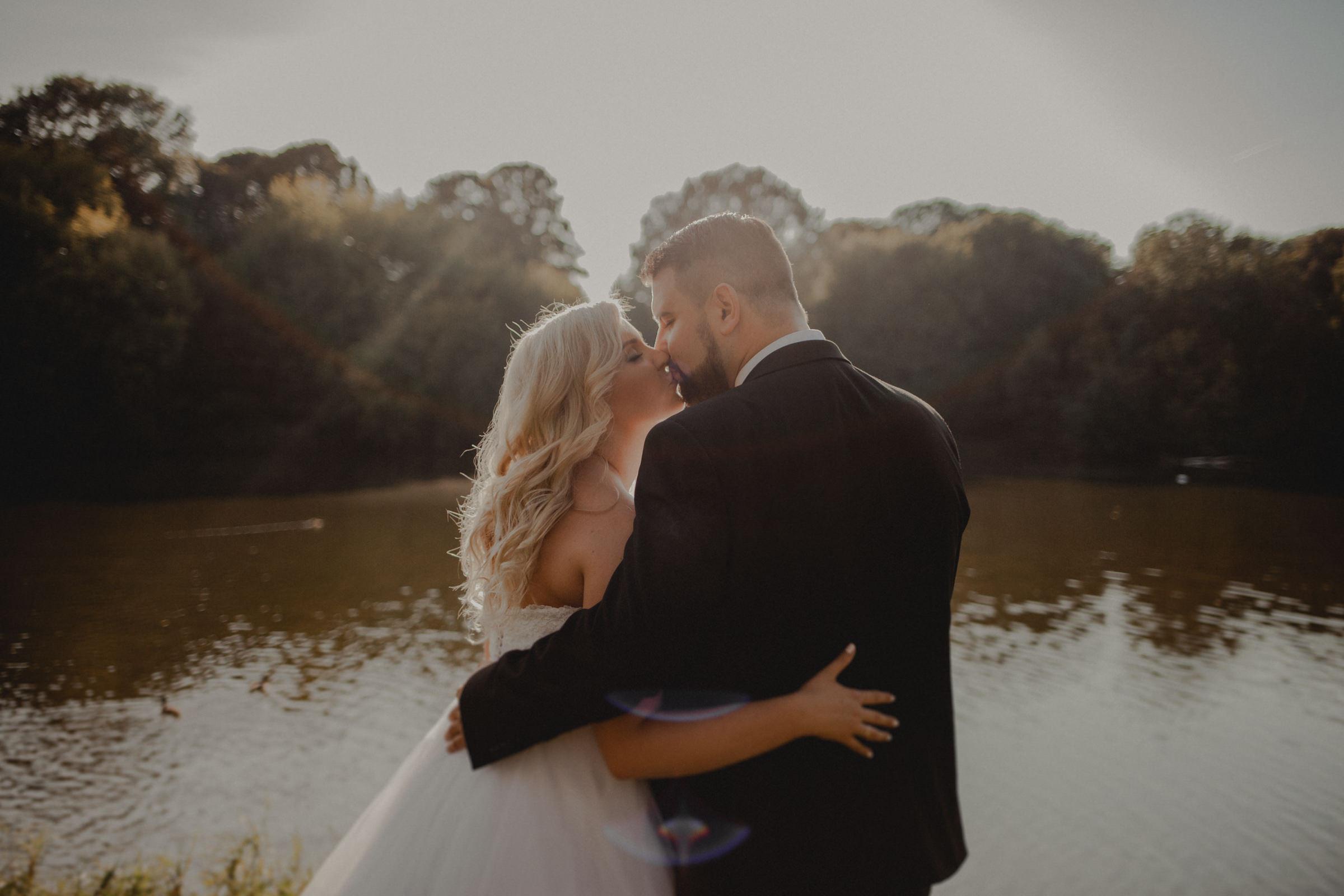 czułe fotografie ślubne