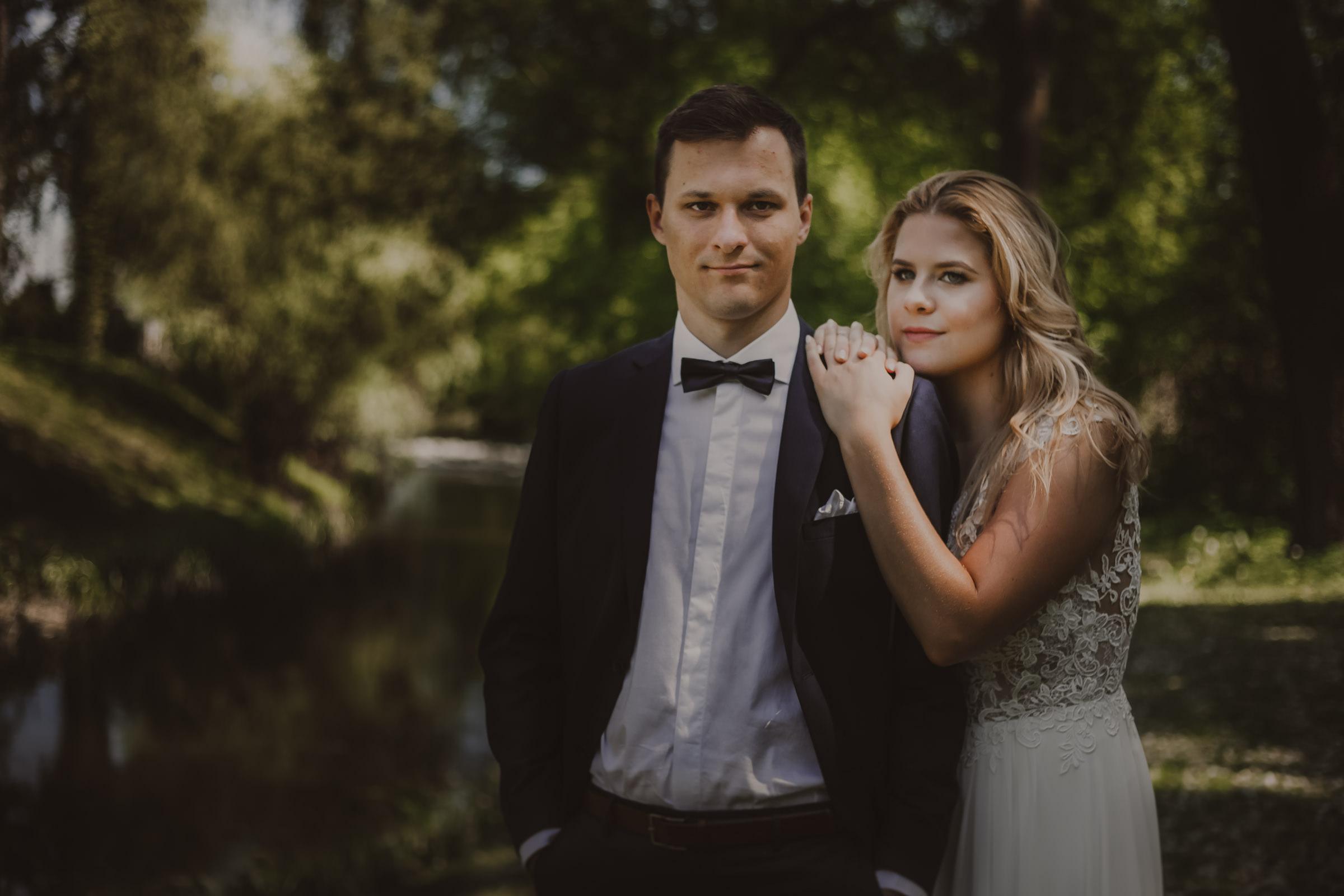 portret pary młodej