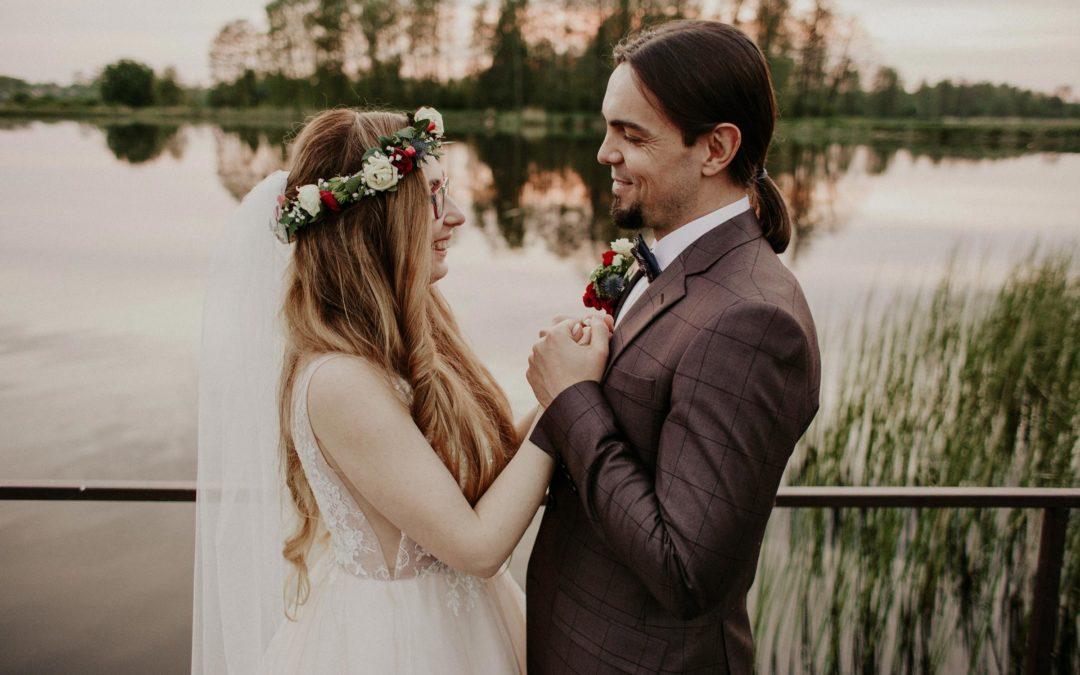 Sesja w dniu ślubu – Dwór Mościbrody