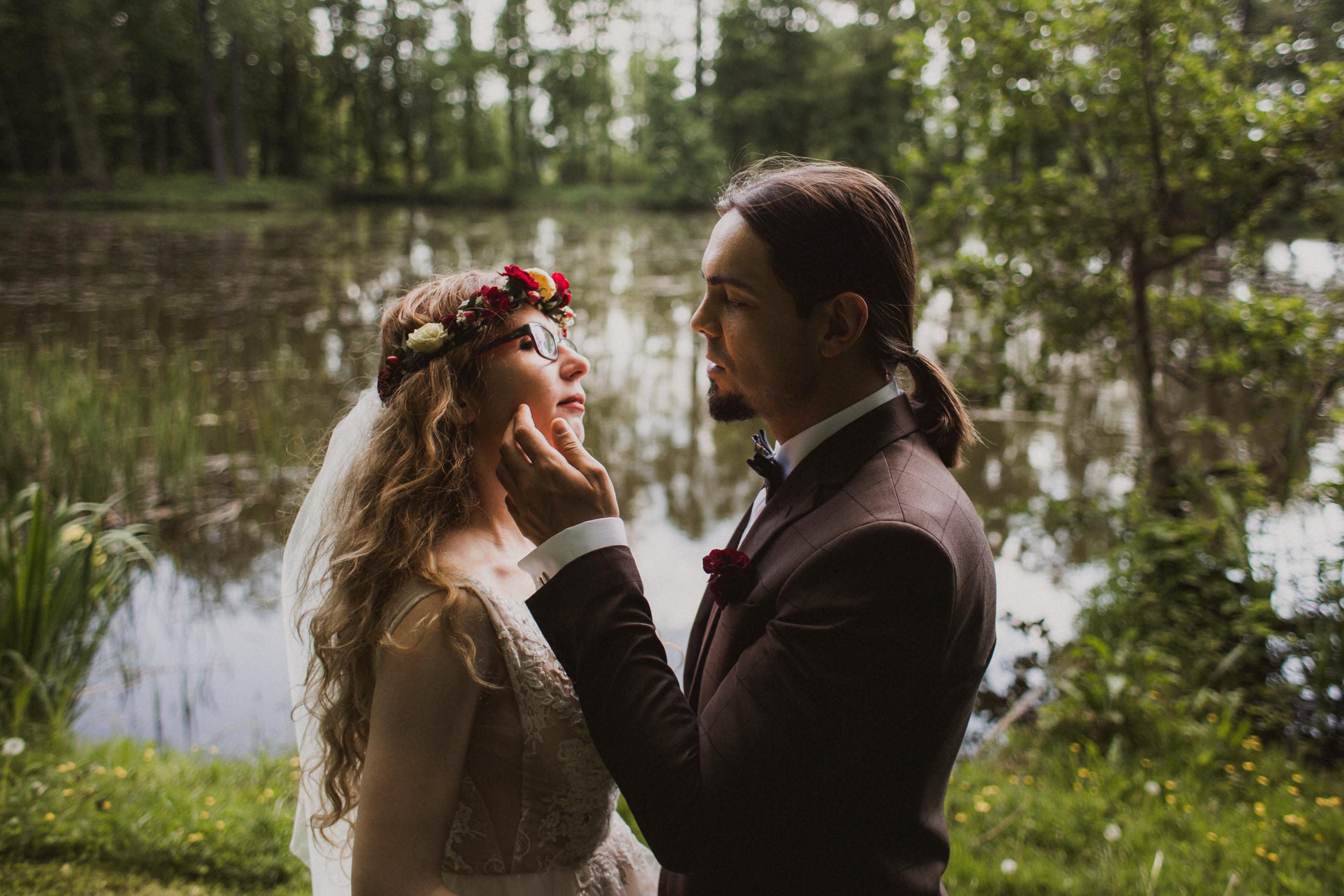 sesja ślubna arkadia nieborów