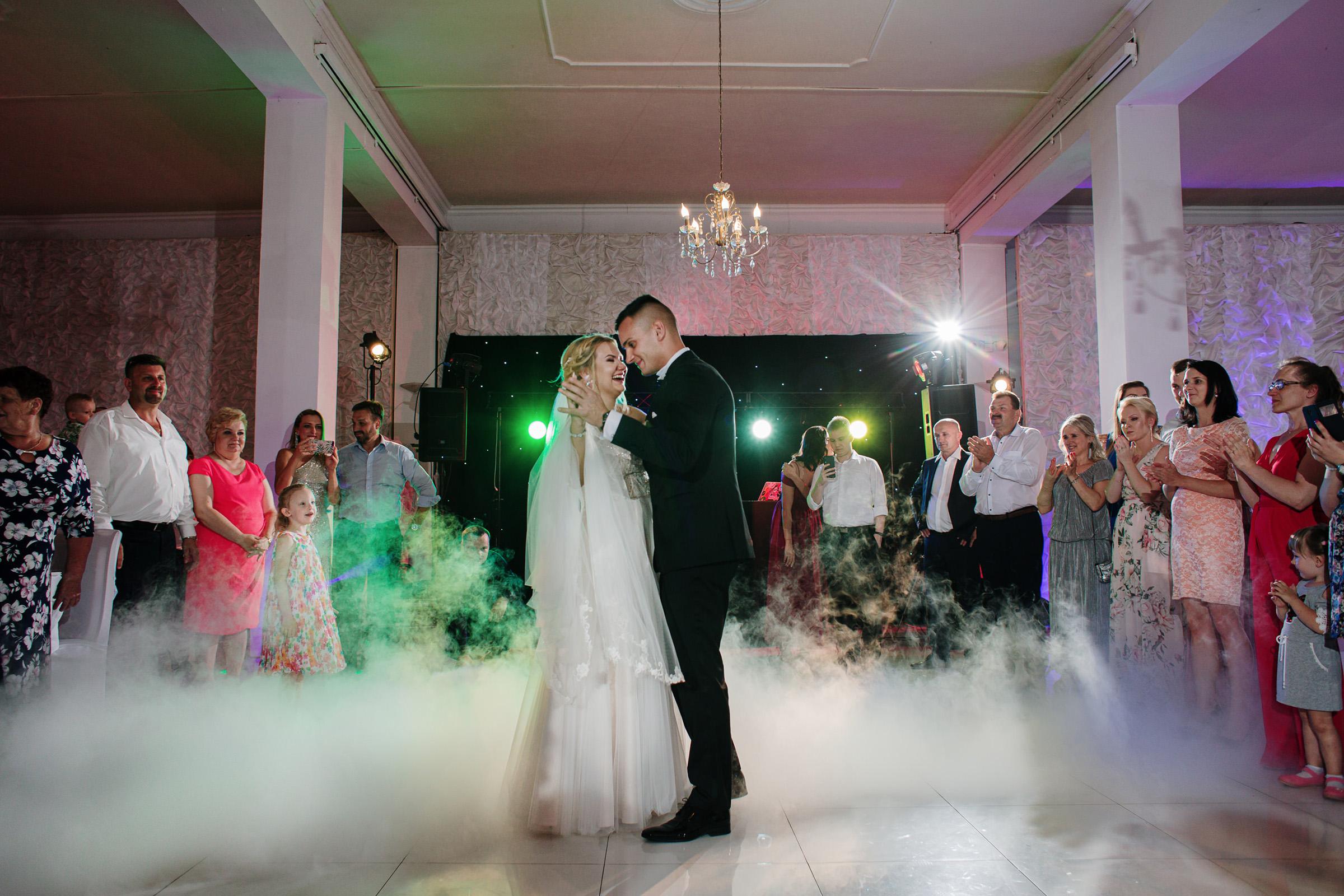 Sala u Artura zielonka wesele