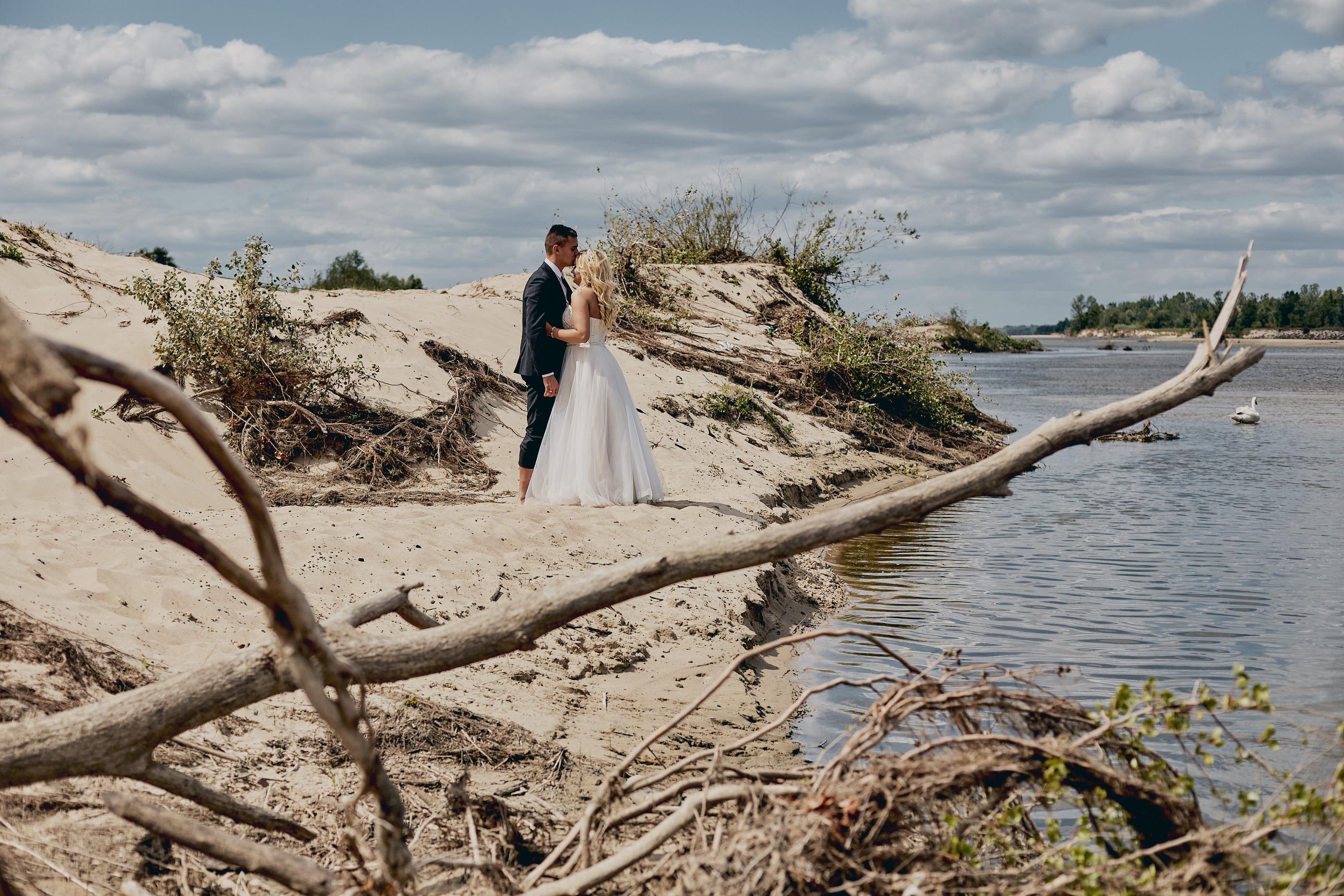 zdjęcia ślubne na plaży warszawa