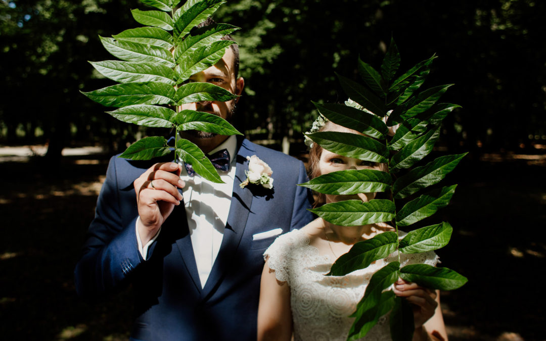 kreatywna sesja ślubna