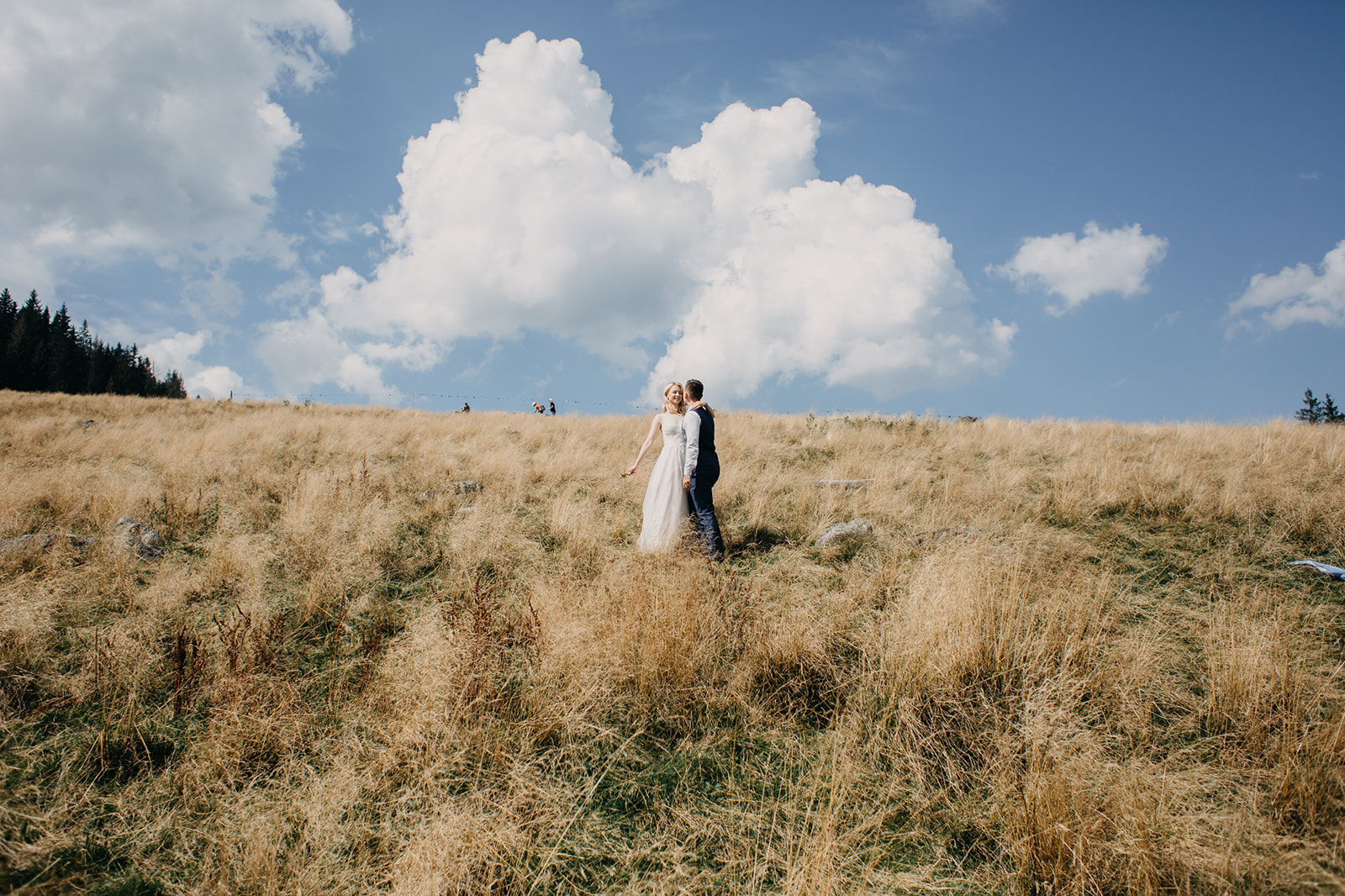 Sesja ślubna Rusinowa Polana - Zdjęcia ślubne w górach