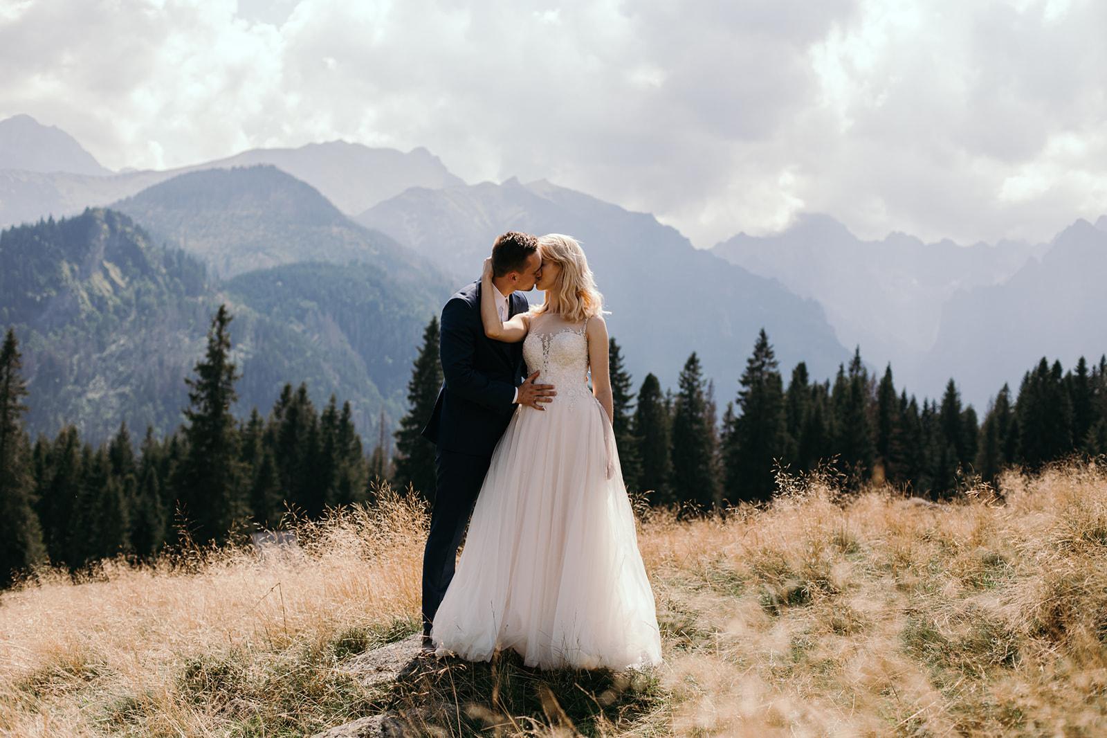 sesja ślubna w górach polana rusinowa