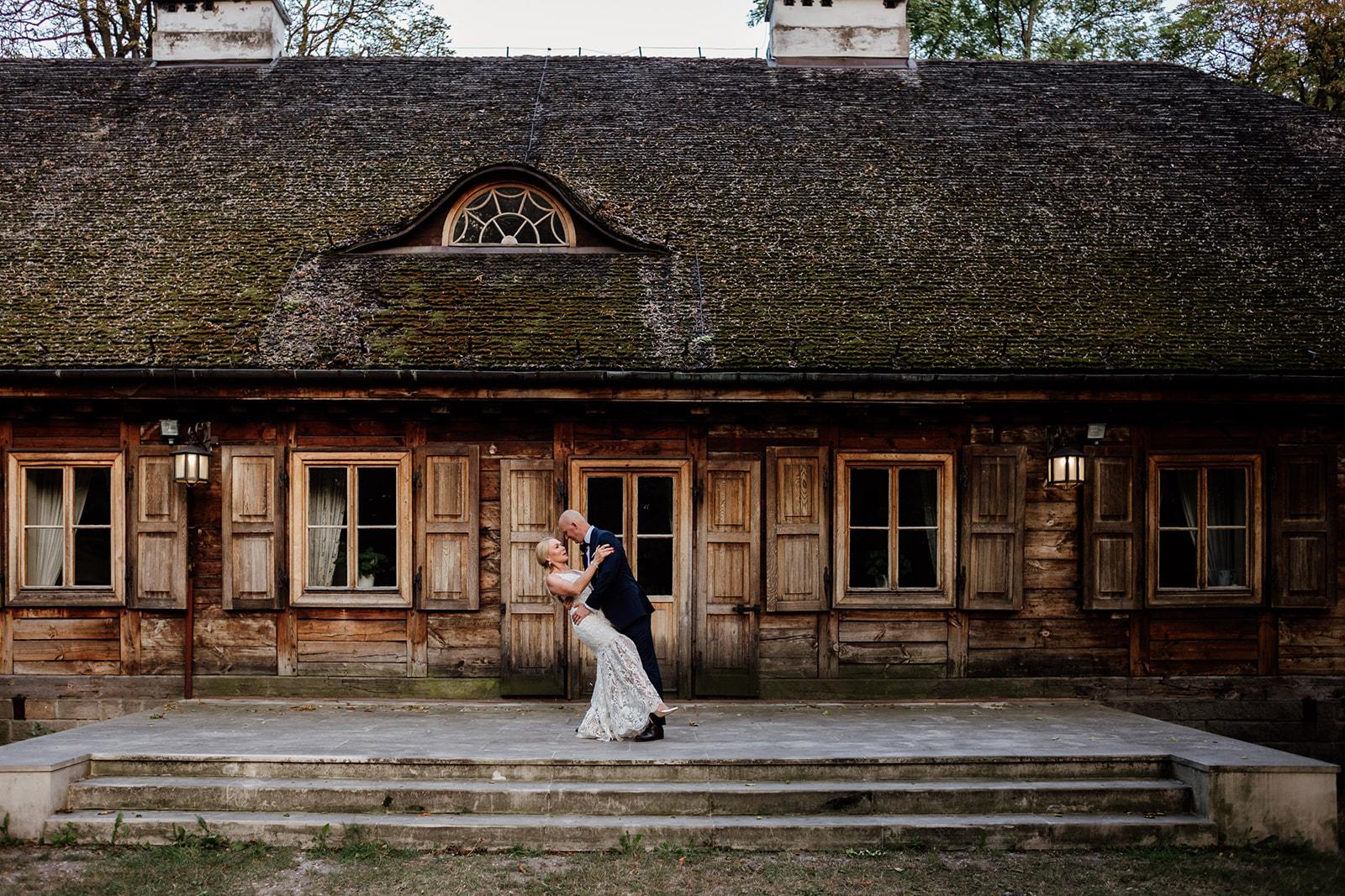 Sesja ślubna Pałac Radziejowice - Monika i Kamil