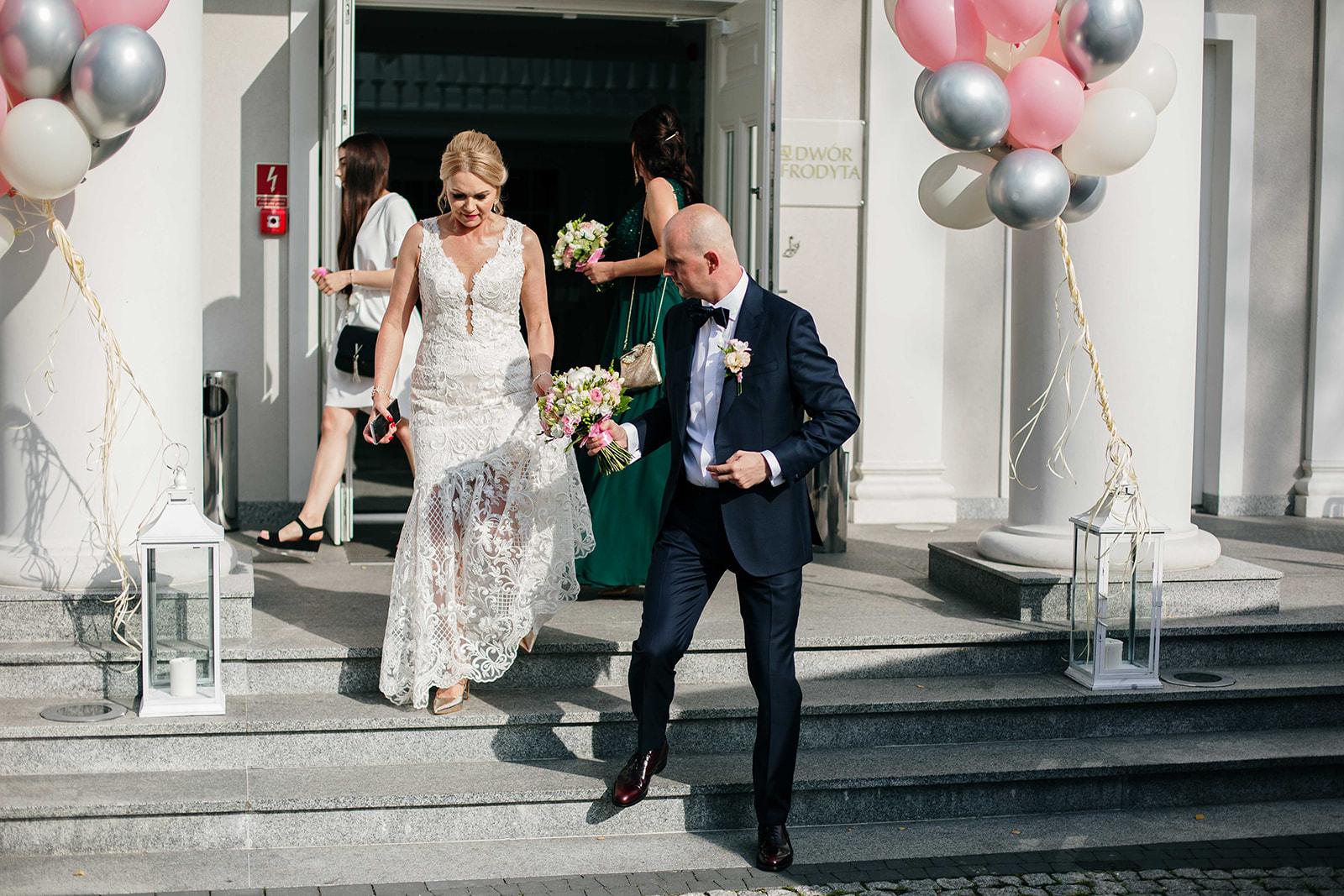 dwór afrodyta wesele fotograf ślubny