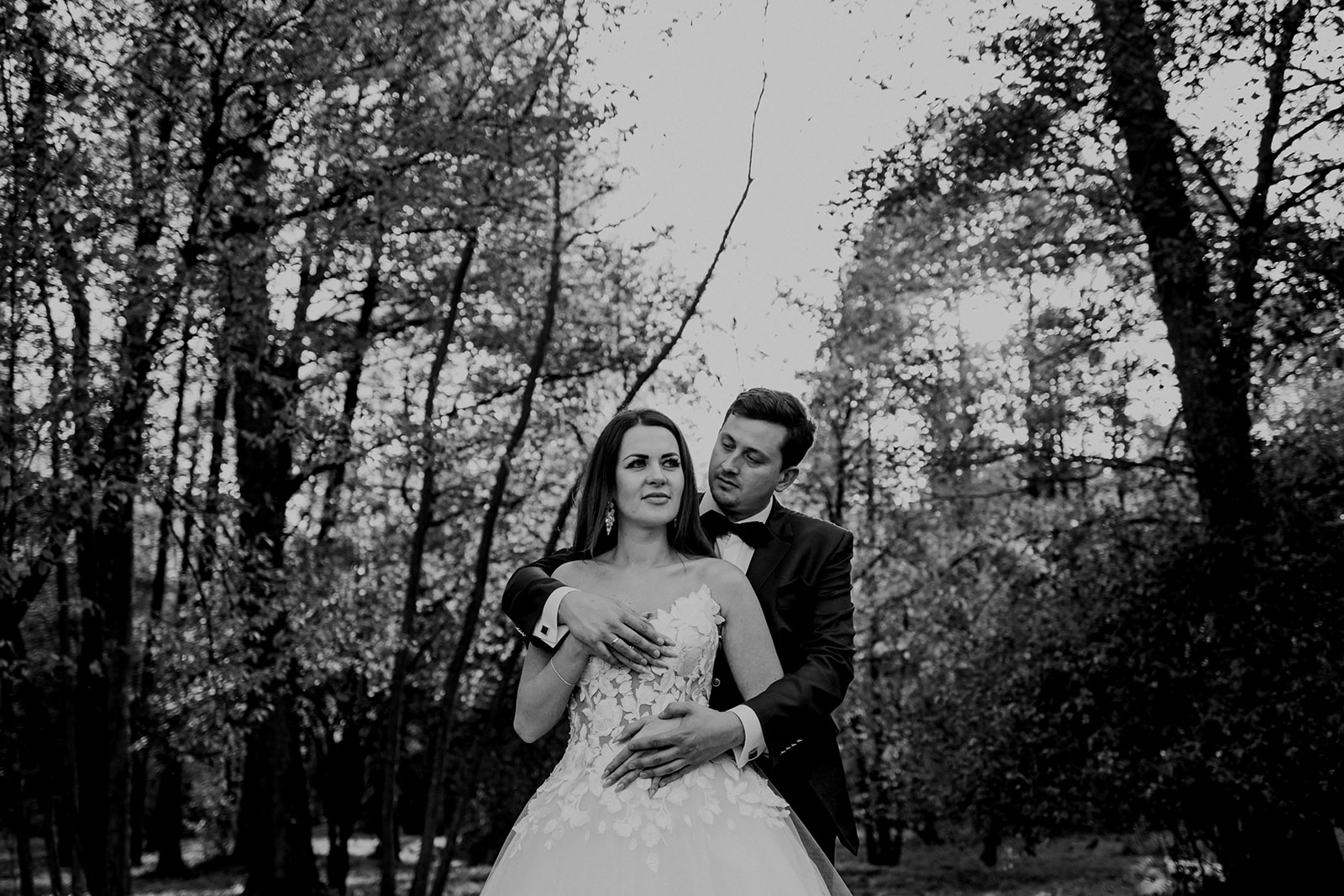 sesja ślubna w parku