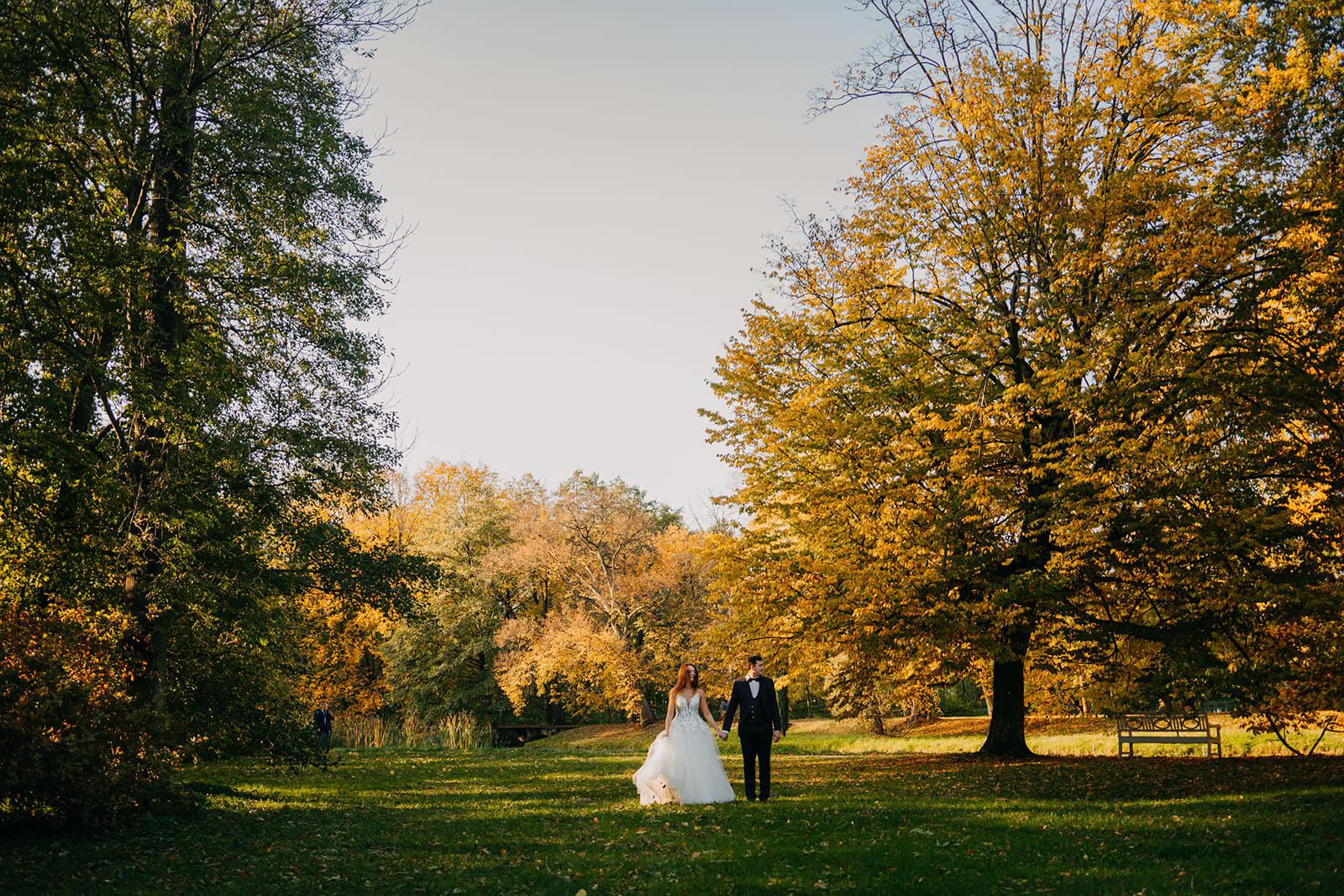 sesja w kolorach jesieni