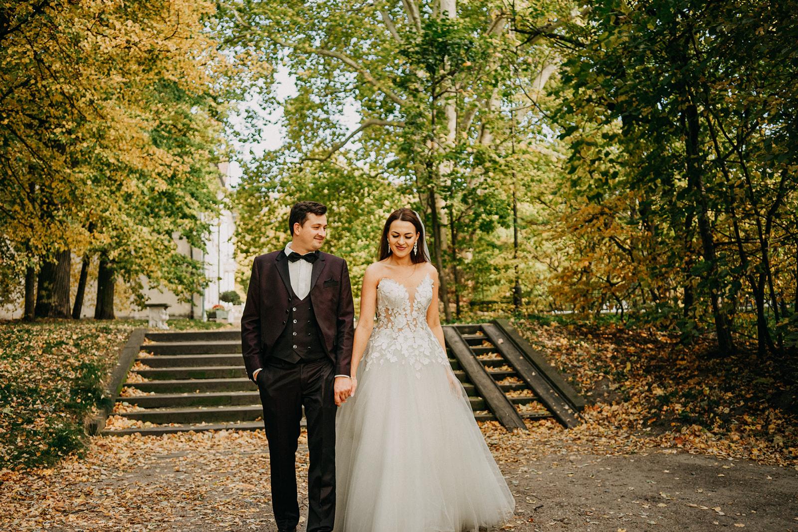Plener ślubny w Nieborowie